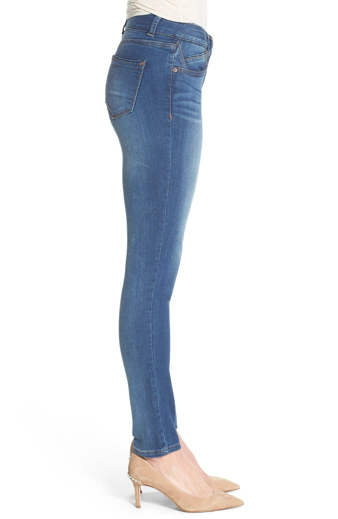 Alternate Image 3  - Wit & Wisdom Ab-solution Stretch Skinny Jeans (Nordstrom Exclusive)