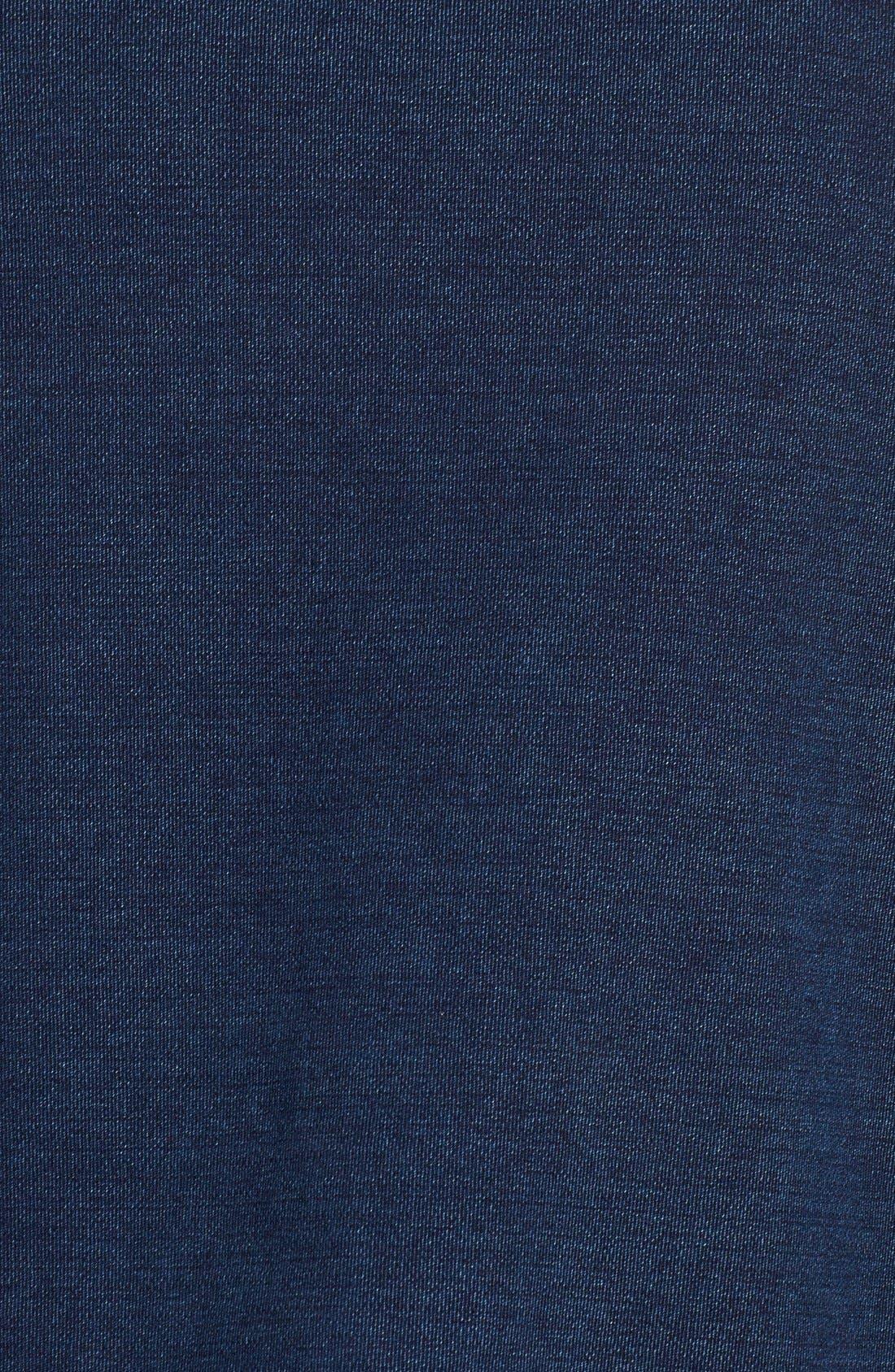 Alternate Image 5  - AG Indigo Capsule Collection Cubo Crop Sweatshirt