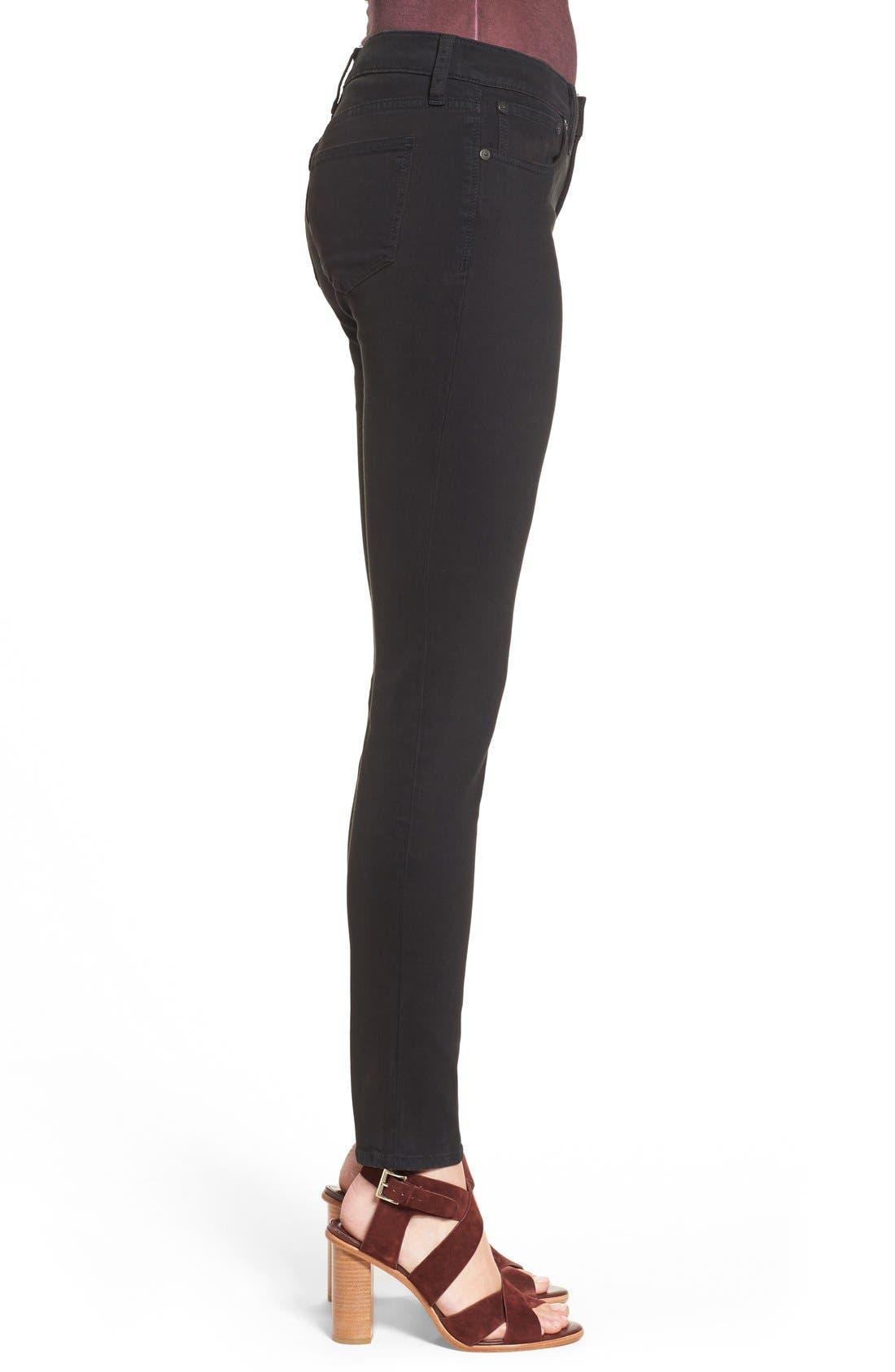 Alternate Image 4  - Madewell Garment Dyed Skinny Jeans