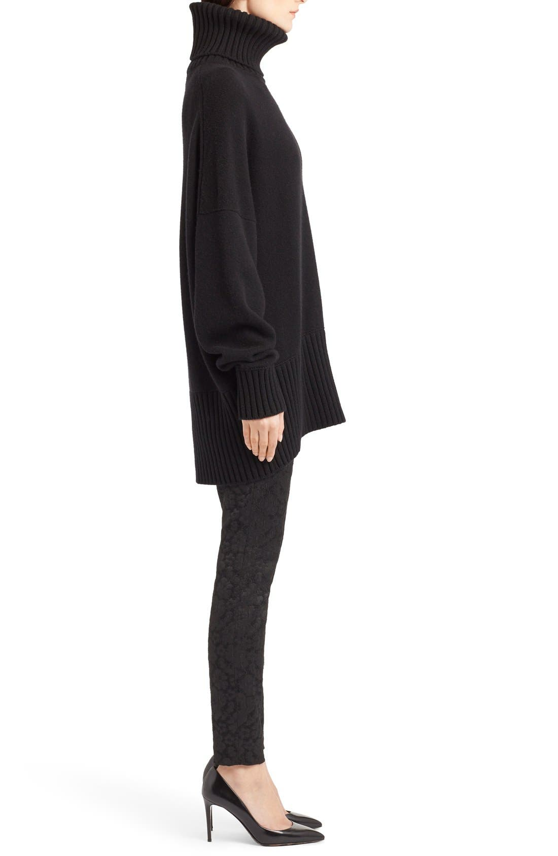 Alternate Image 4  - Dolce&Gabbana Turtleneck Cashmere Sweater