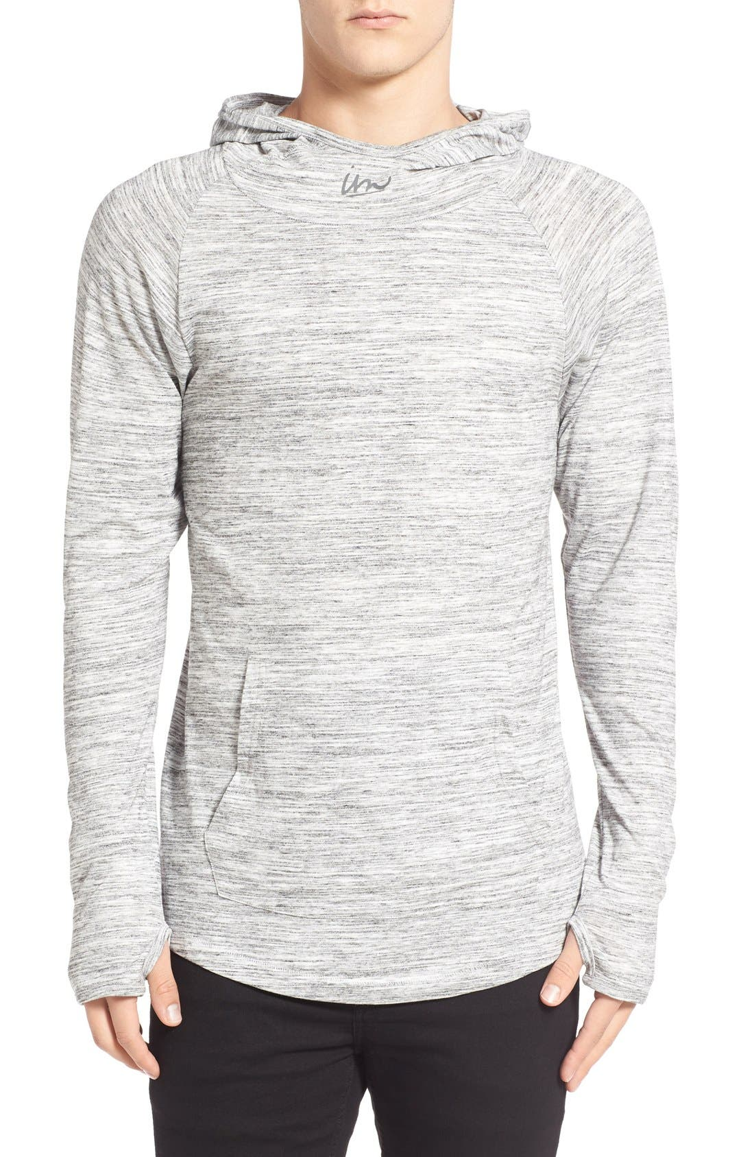 Imperial Motion 'Trace Suba' Cowl Neck Hoodie