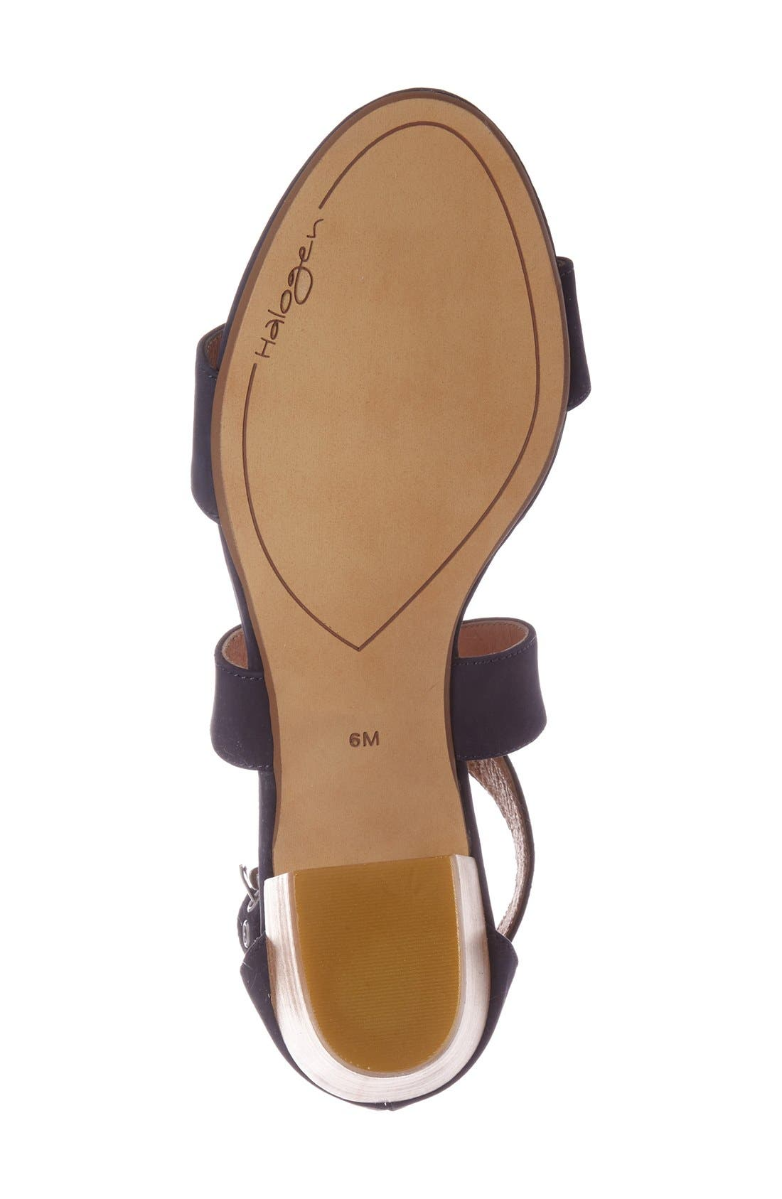 Alternate Image 4  - Halogen 'Rena' Crisscross Strap Sandal (Women)