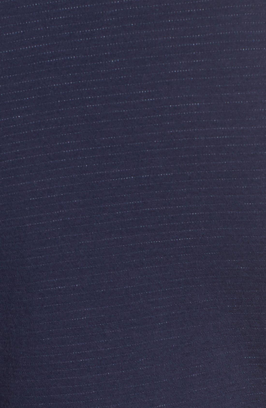 Alternate Image 6  - Caslon® Cotton Knit Open Front Blazer (Regular & Petite)