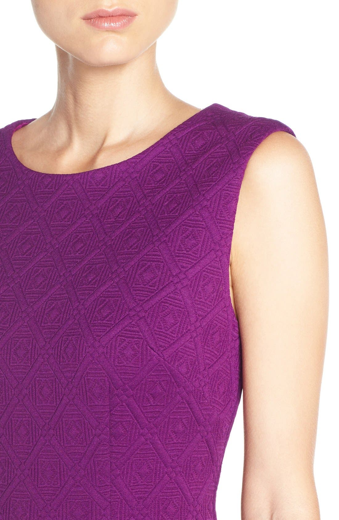 Alternate Image 5  - Betsey Johnson Textured Knit Sheath Dress