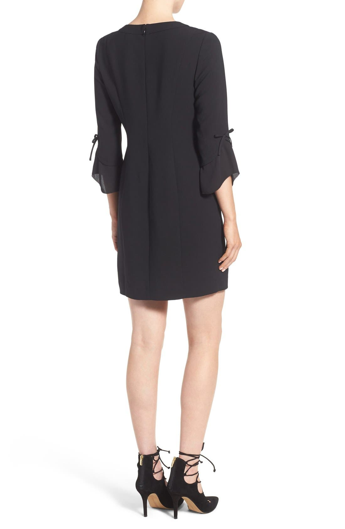 Alternate Image 3  - Chelsea28 Ruffle Sleeve Sheath Dress