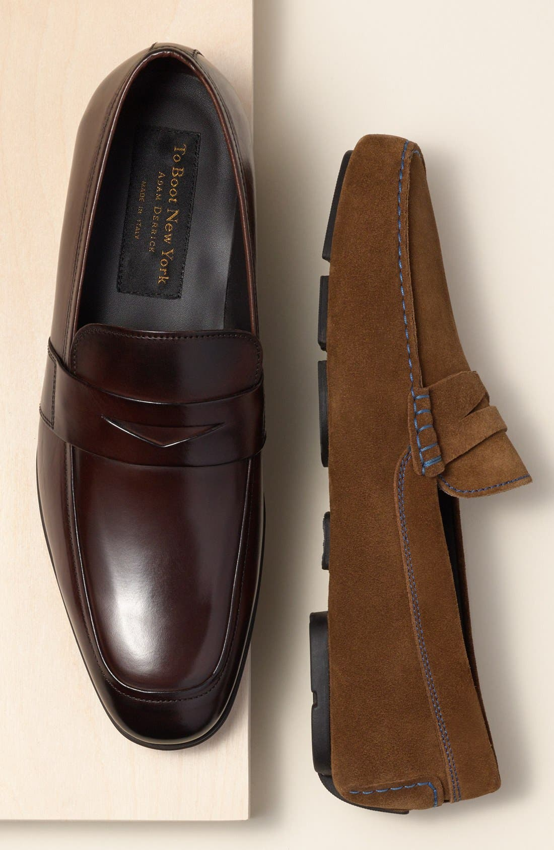 Alternate Image 5  - To Boot New York 'Senato' Penny Loafer (Men)