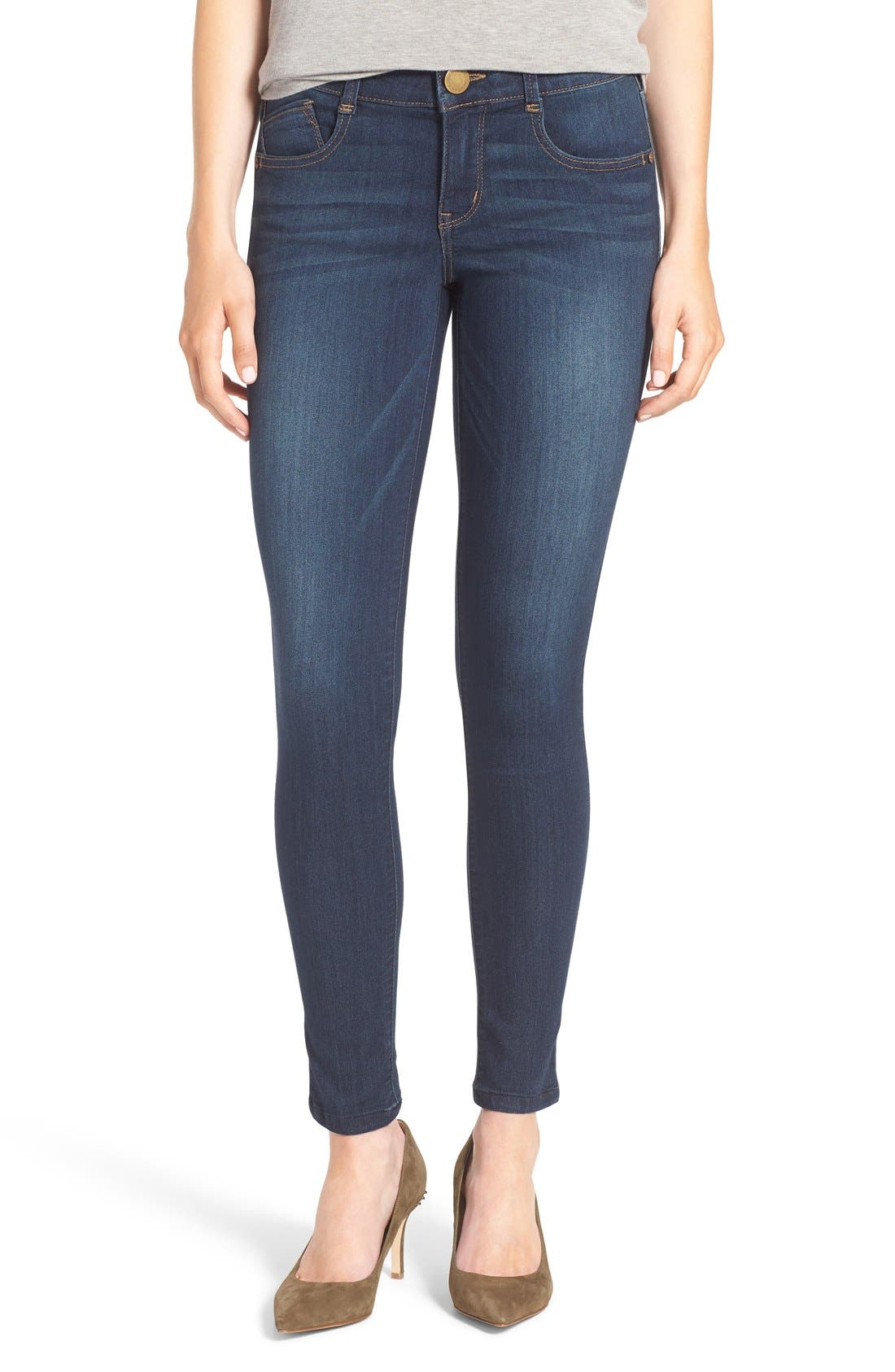 Alternate Image 1 Selected - Wit & Wisdom 'Ab-solution' Stretch Skinny Jeans (Nordstrom Exclusive)