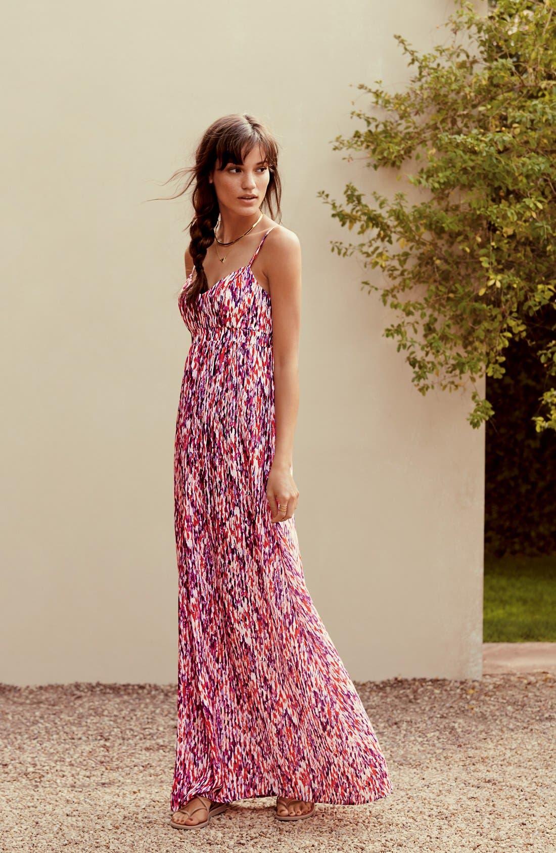 Alternate Image 2  - Felicity & Coco Woven Maxi Dress (Regular & Petite) (Nordstrom Exclusive)