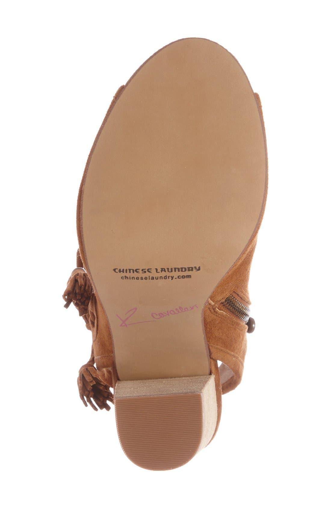Alternate Image 4  - Kristin Cavallari 'Legend' Peep Toe Zip Bootie (Women)