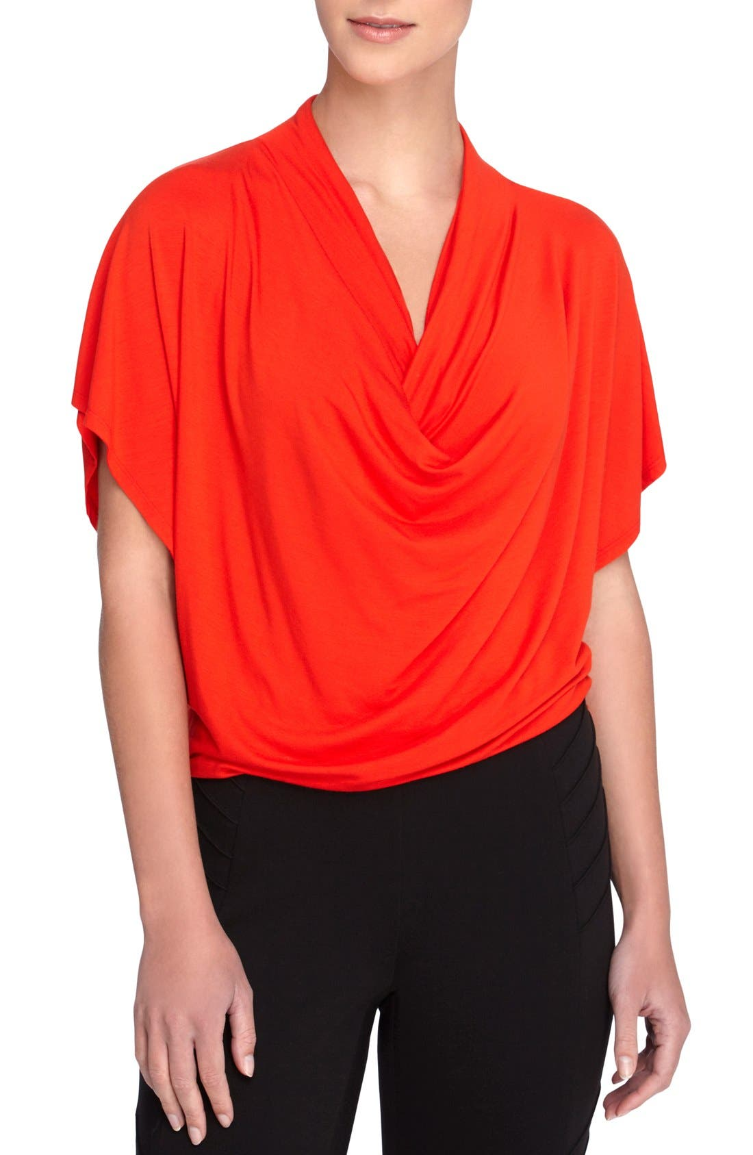 CATHERINE CATHERINE MALANDRINO 'Pearce' Drape Neck Top