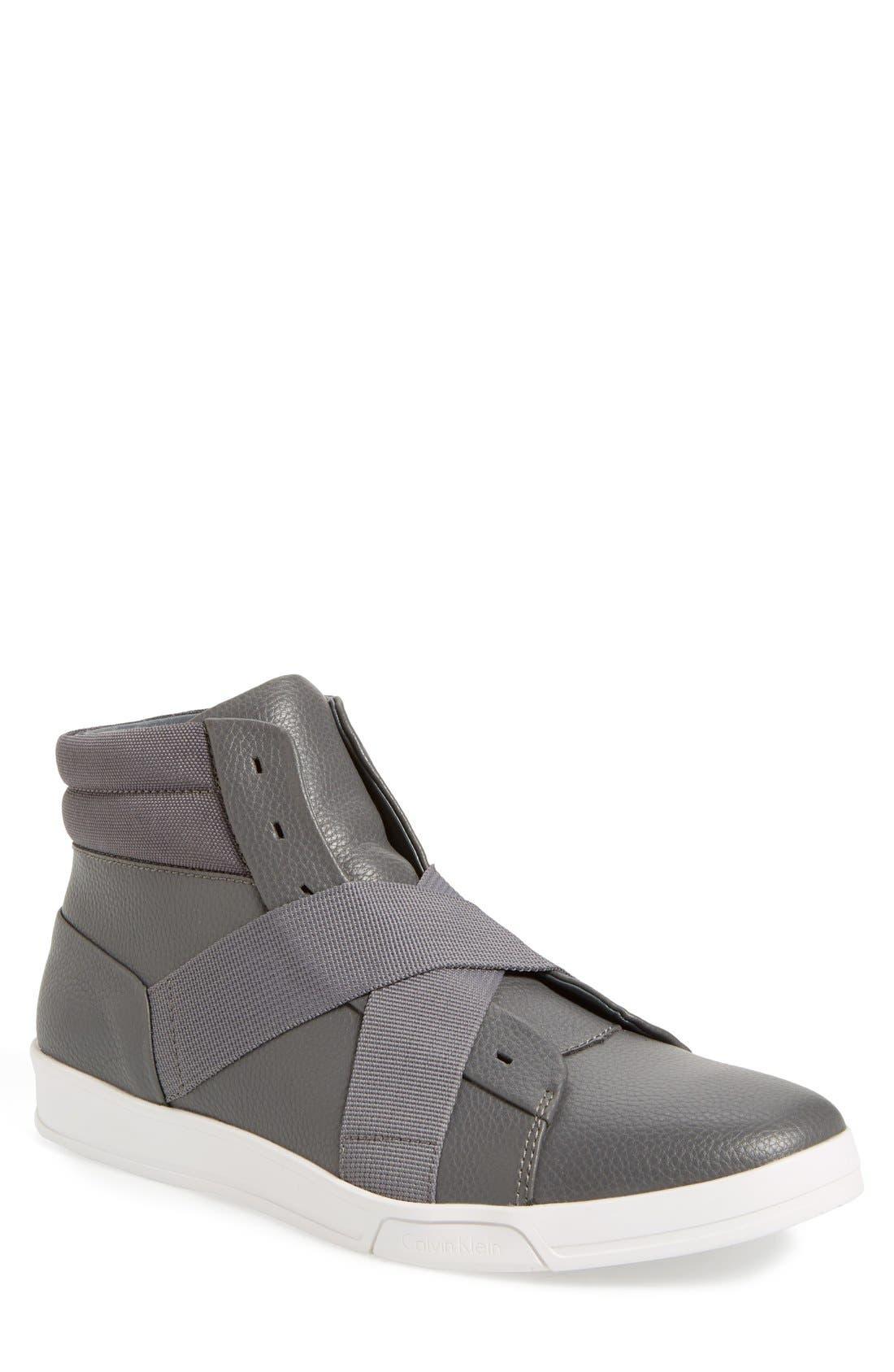 Main Image - Calvin Klein 'Banjo' High Top Sneaker (Men)