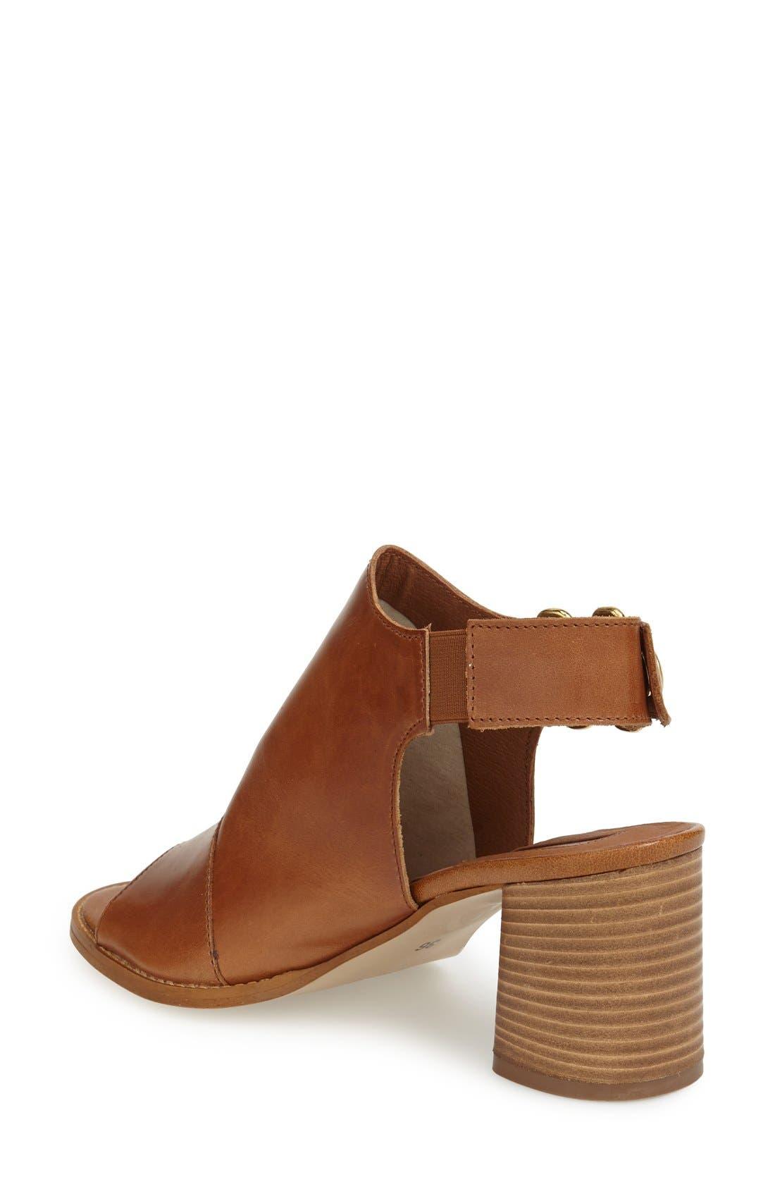 Alternate Image 2  - Topshop 'Nimi' Slingback Round Heel Sandal (Women)