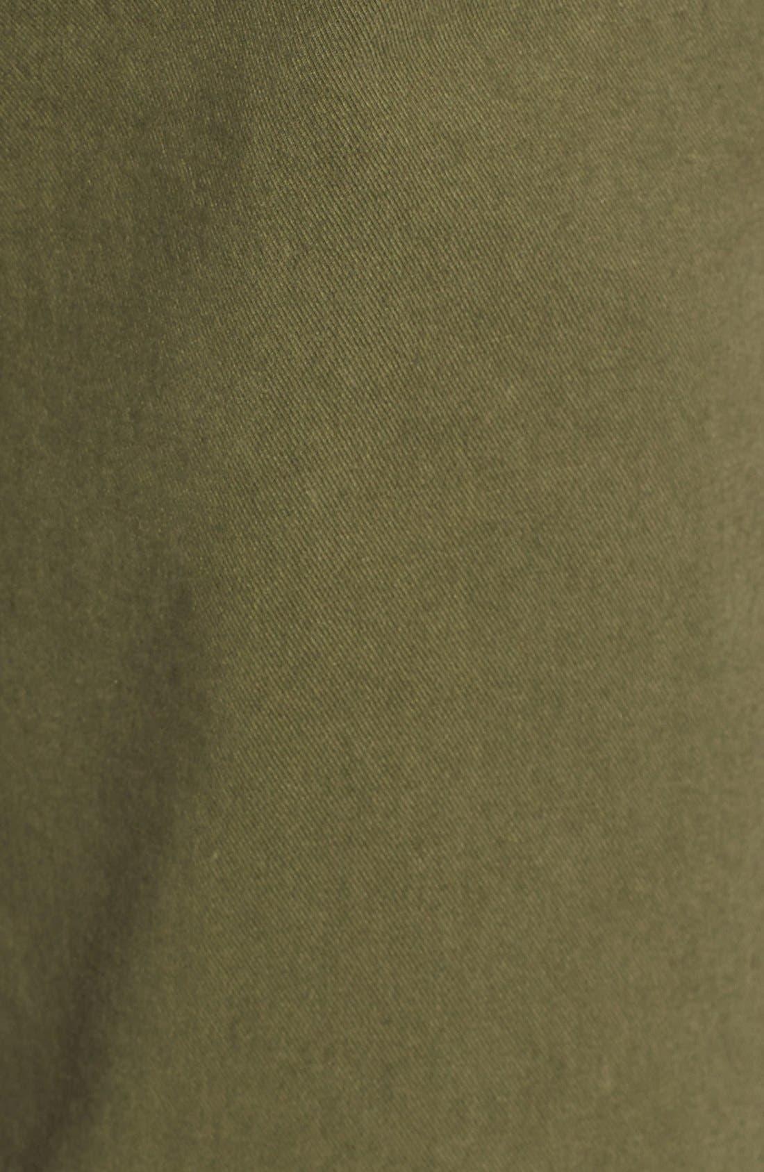 Alternate Image 5  - Madewell High Rise Straight Leg Chino Pants