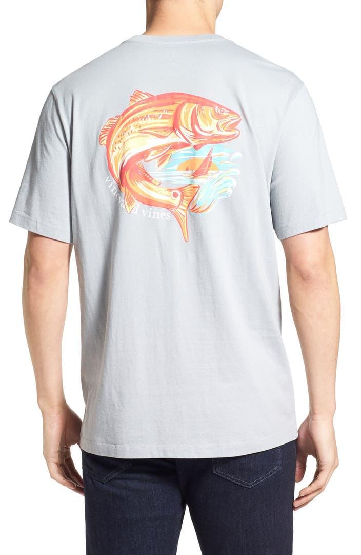 Vineyard vines 39 redfish island 39 pocket t shirt nordstrom for Vineyard vines fishing shirt