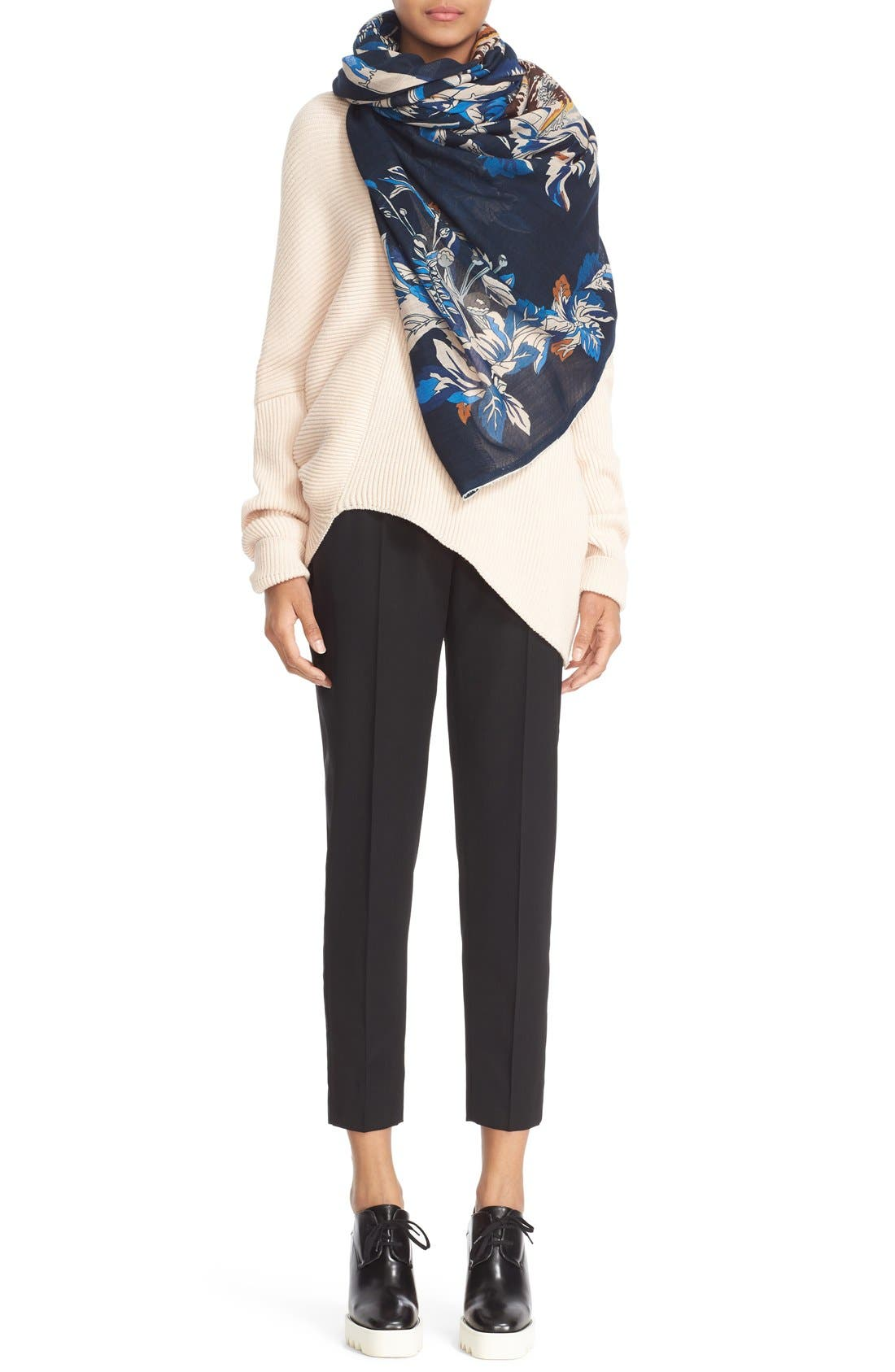 Alternate Image 6  - Stella McCartney Asymmetrical Wool Sweater
