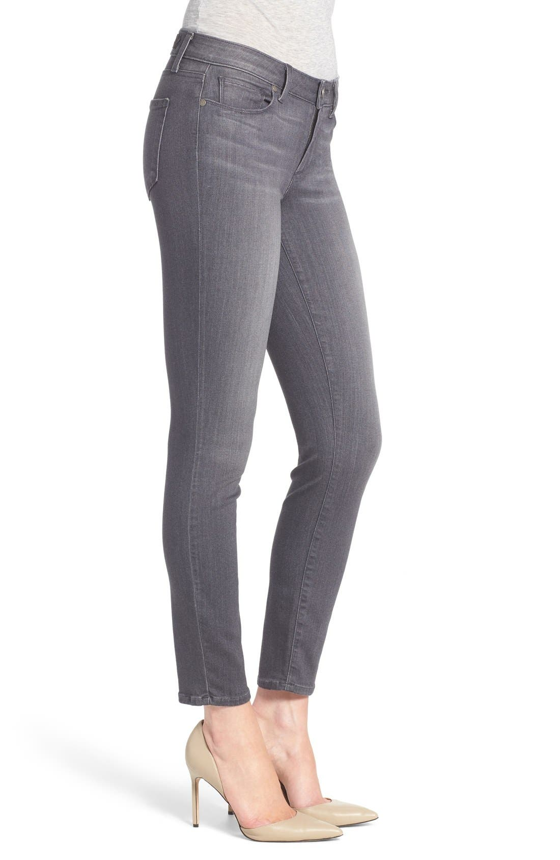 Alternate Image 3  - PAIGE Transcend - Verdugo Ankle Jeans (Bonnie Grey) (Nordstrom Exclusive)