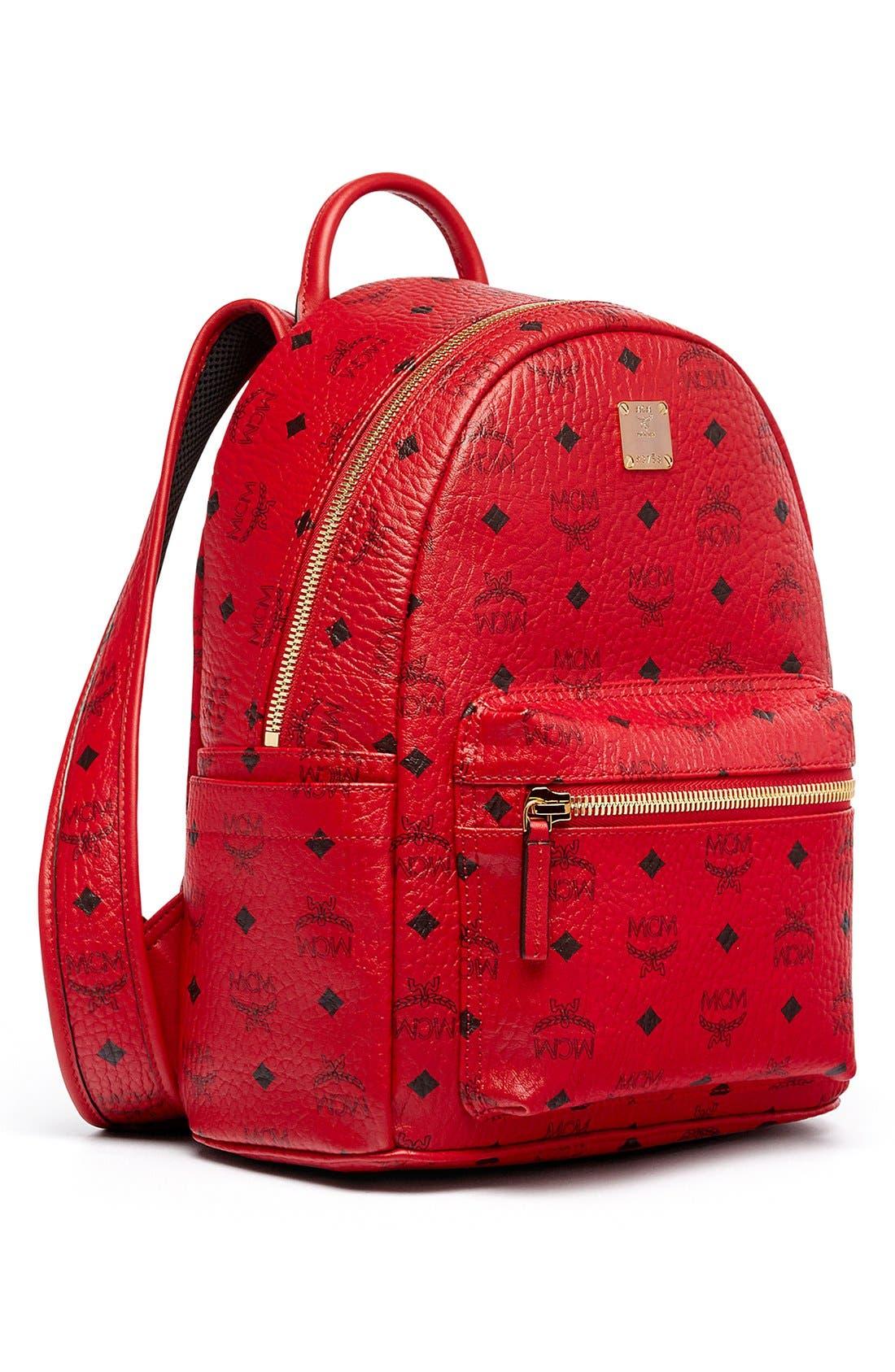 Alternate Image 5  - MCM 'Small Stark' Coated Canvas Backpack
