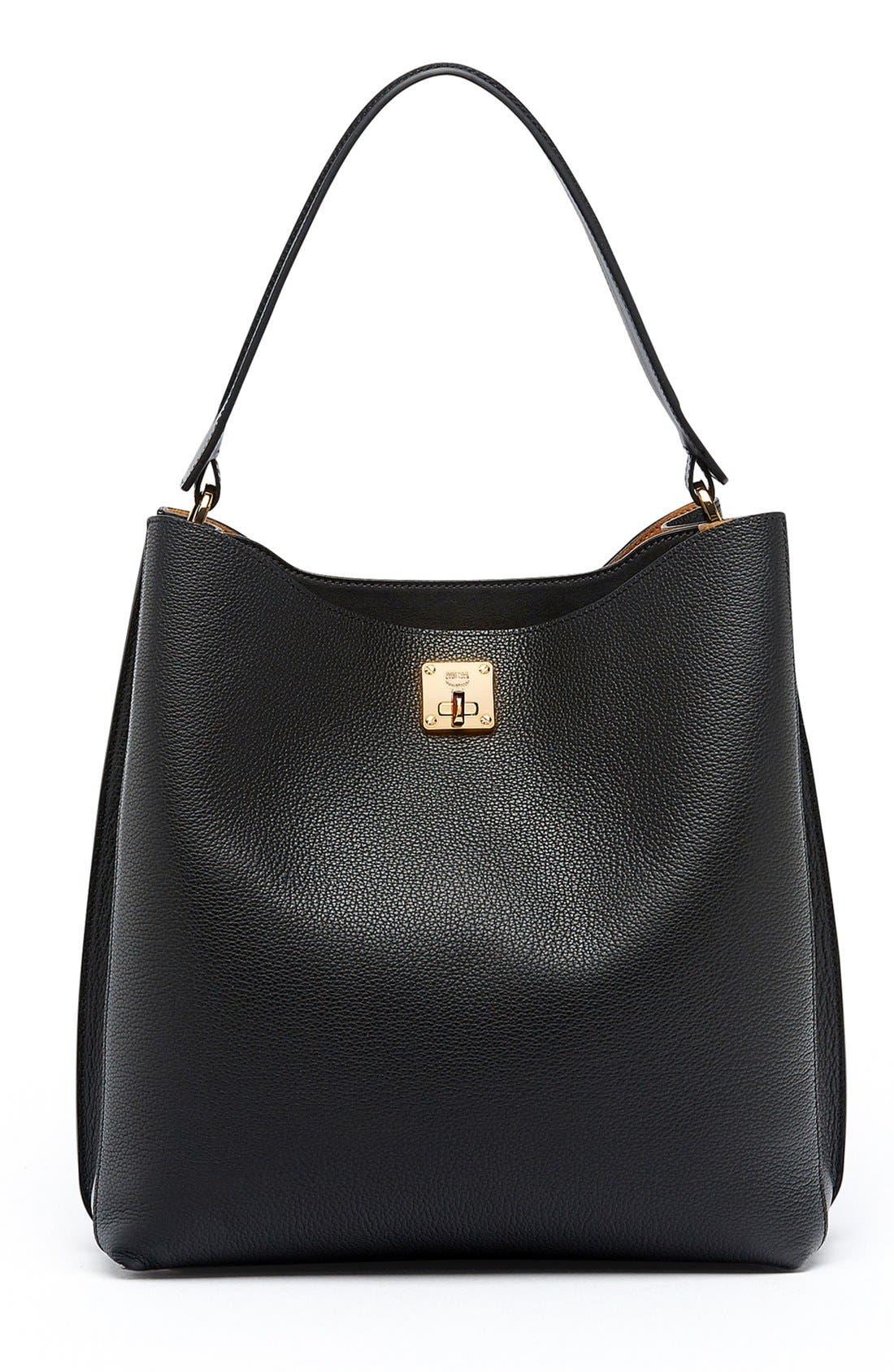 MCM 'Large Milla' Leather Hobo