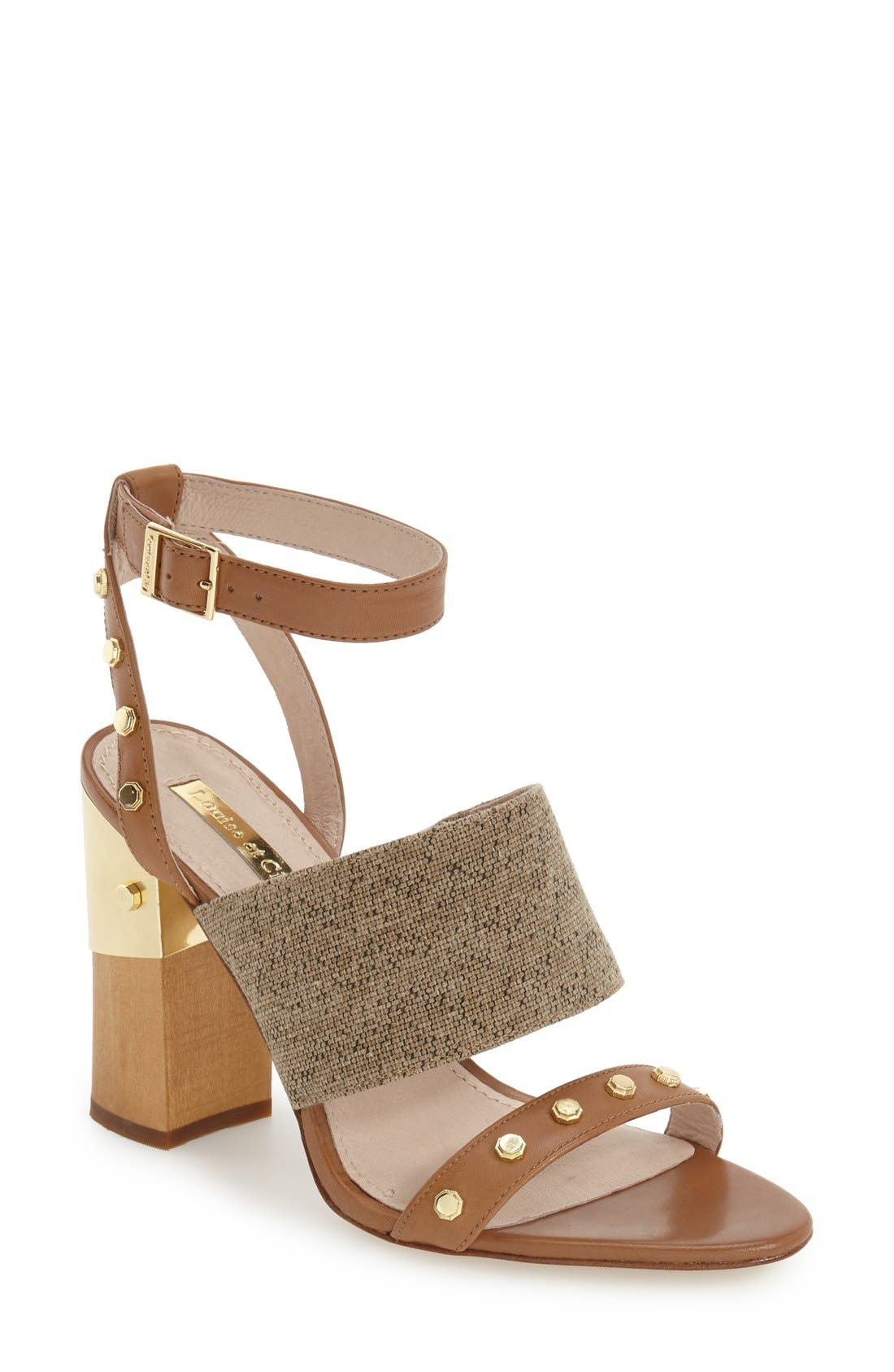 Alternate Image 1 Selected - Louise et Cie 'Kellyn' Studded Sandal (Women)