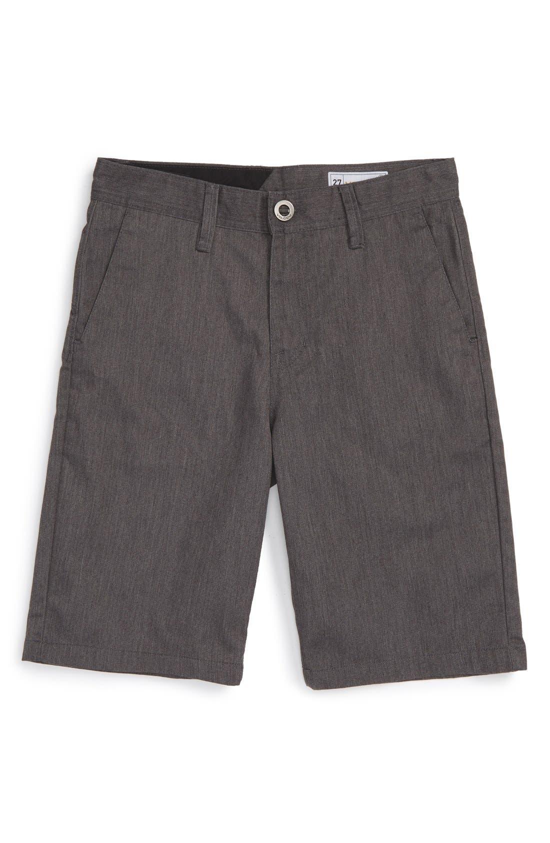 Alternate Image 1 Selected - Volcom Chino Shorts (Toddler Boys, Little Boys & Big Boys)