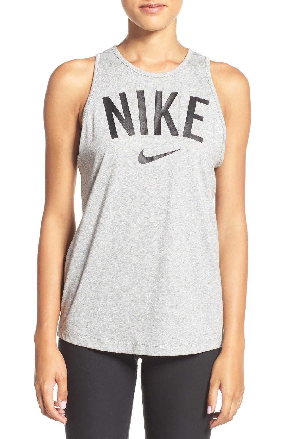 Alternate Image 1 Selected - Nike 'Tomboy' Graphic Tank