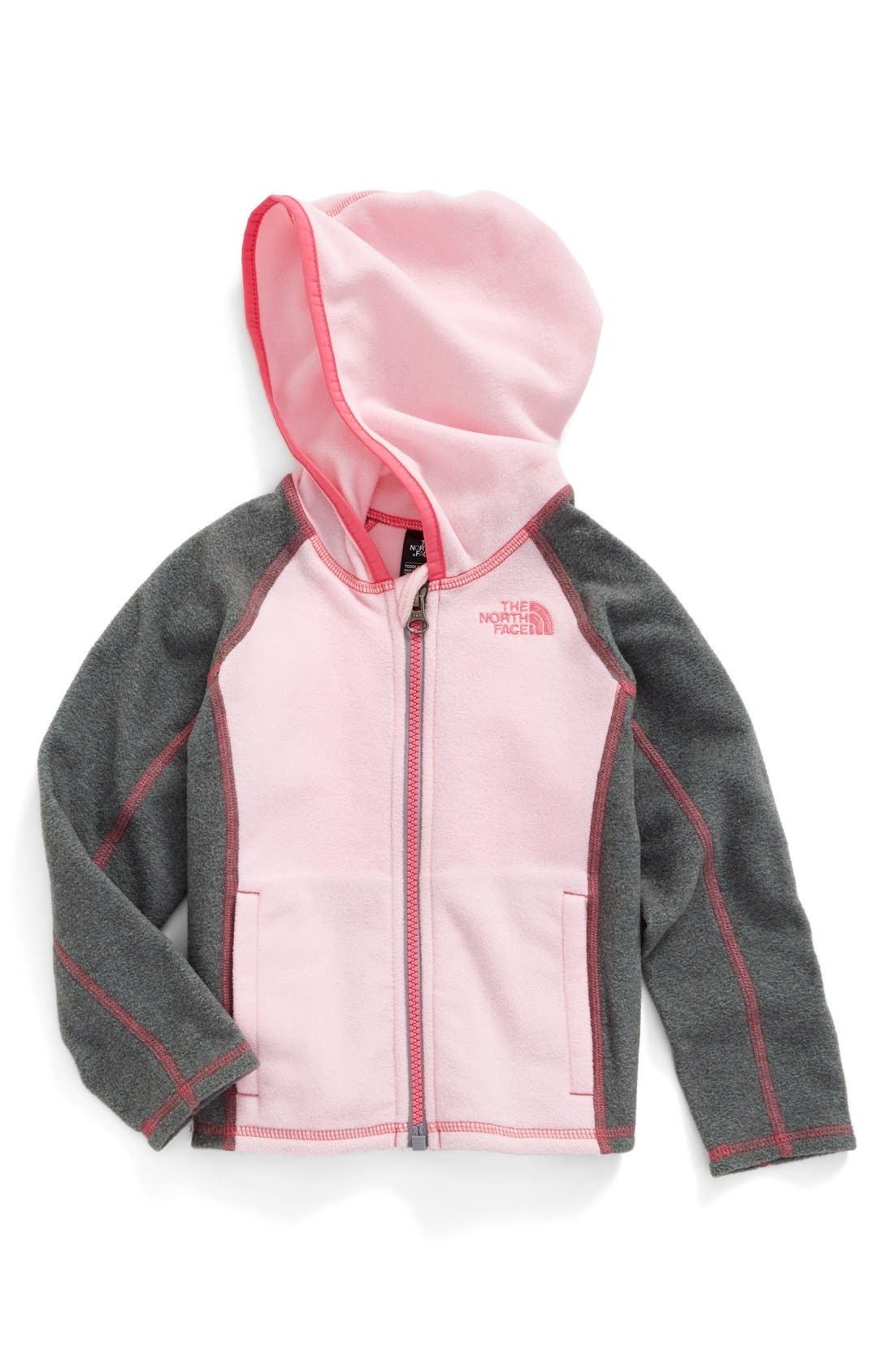 The North Face Glacier Fleece Hooded Jacket (Toddler Girls & Little Girls)