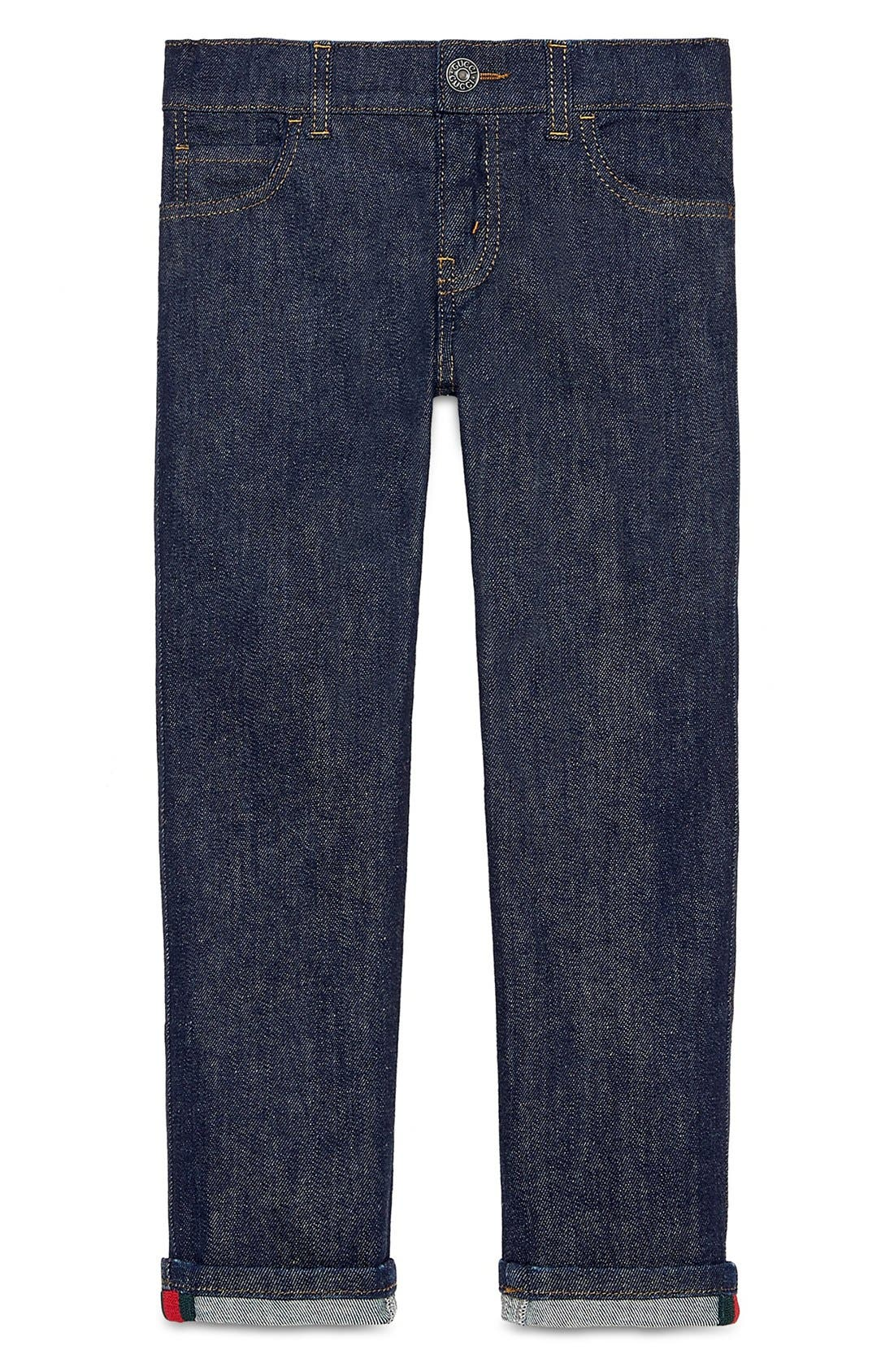 Gucci Straight Leg Jeans (Little Boys & Big Boys)