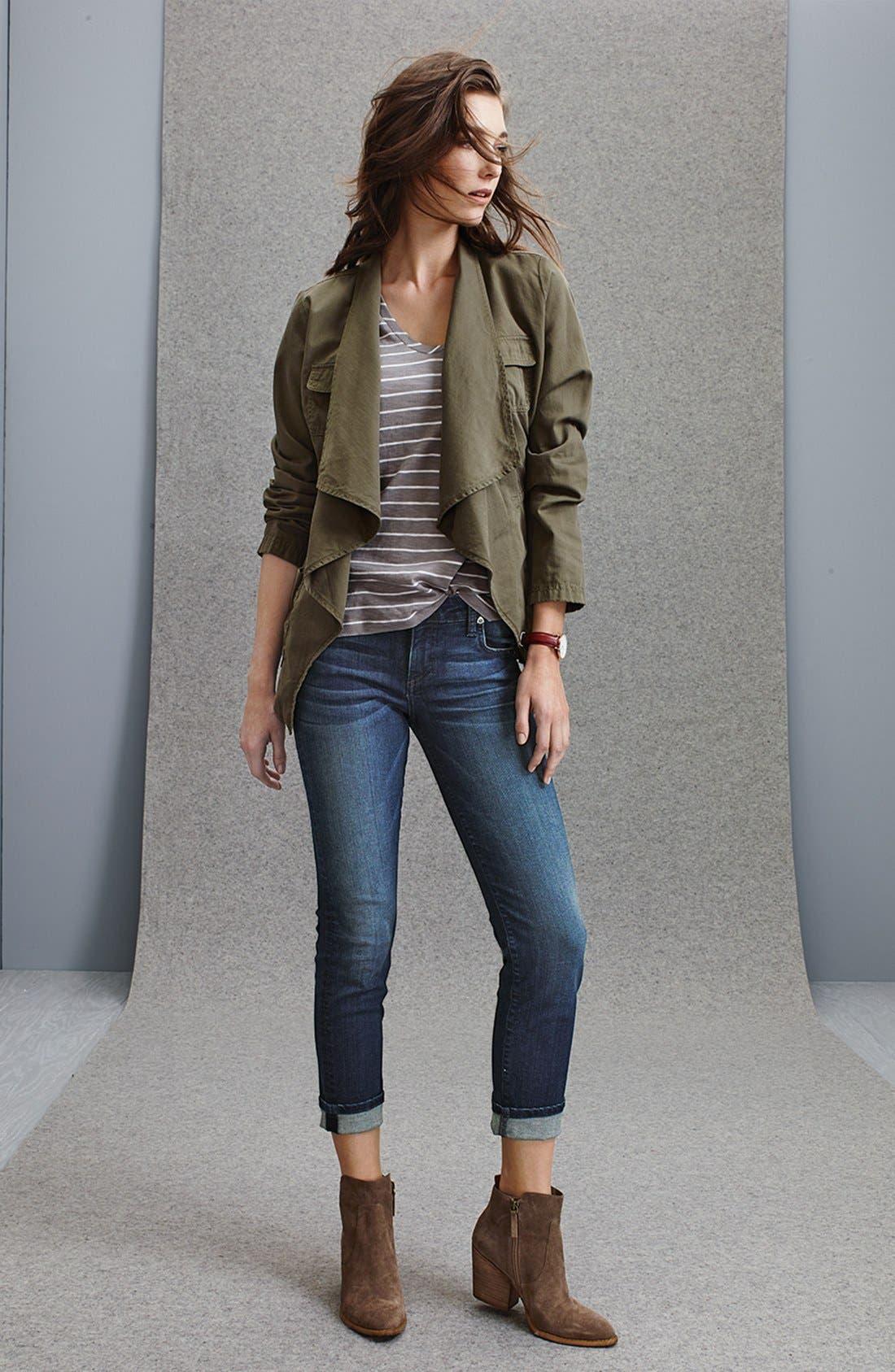 Alternate Image 6  - Kut from the Kloth 'Catherine' Slim Boyfriend Jeans (Carefulness) (Regular & Petite)