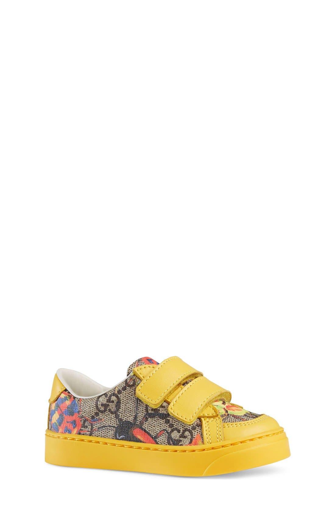 Gucci 'Brooklyn' Sneaker (Walker, Toddler & Little Kid)