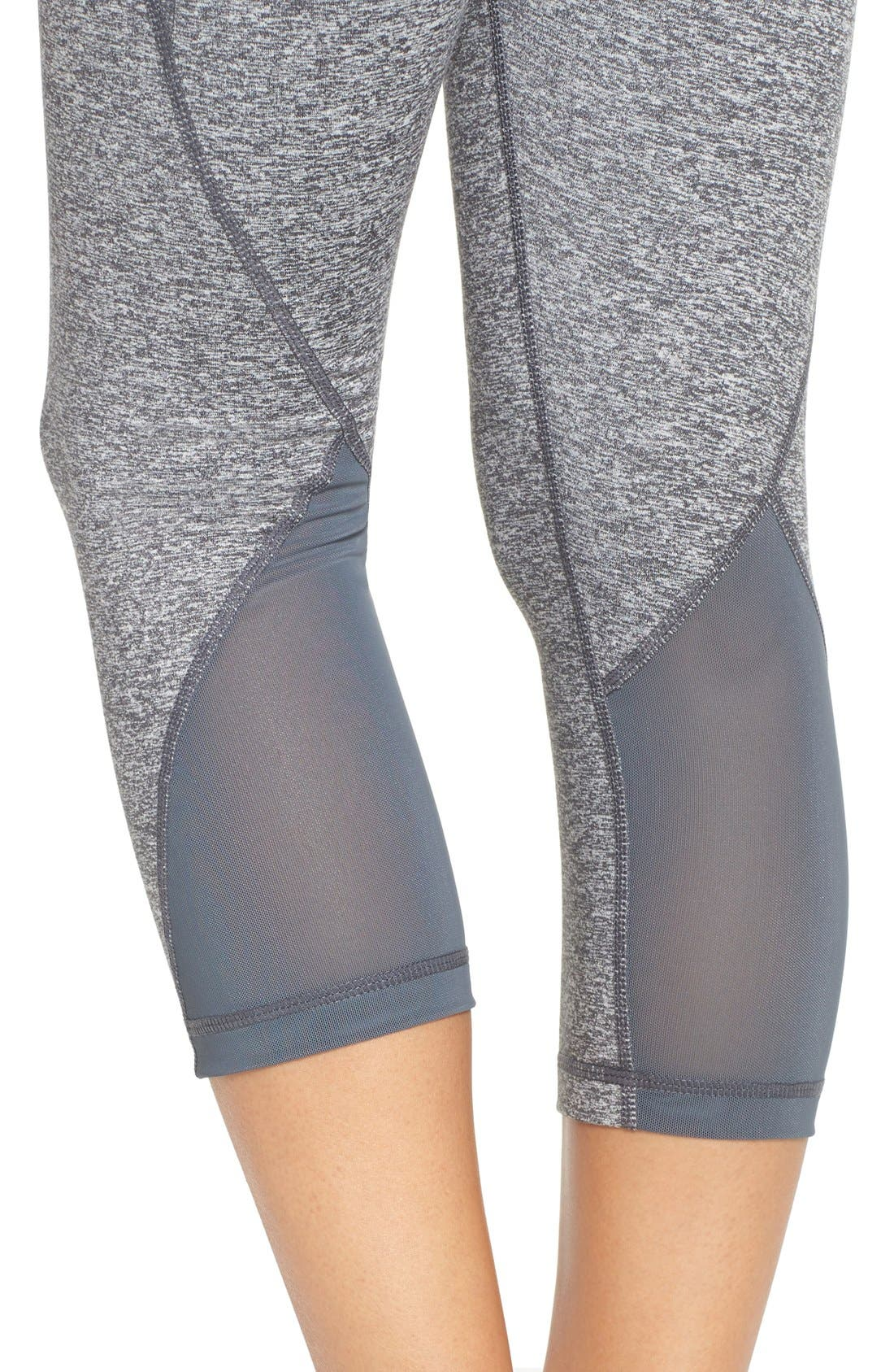 Alternate Image 4  - Zella 'Hatha' High Waist Crop Leggings