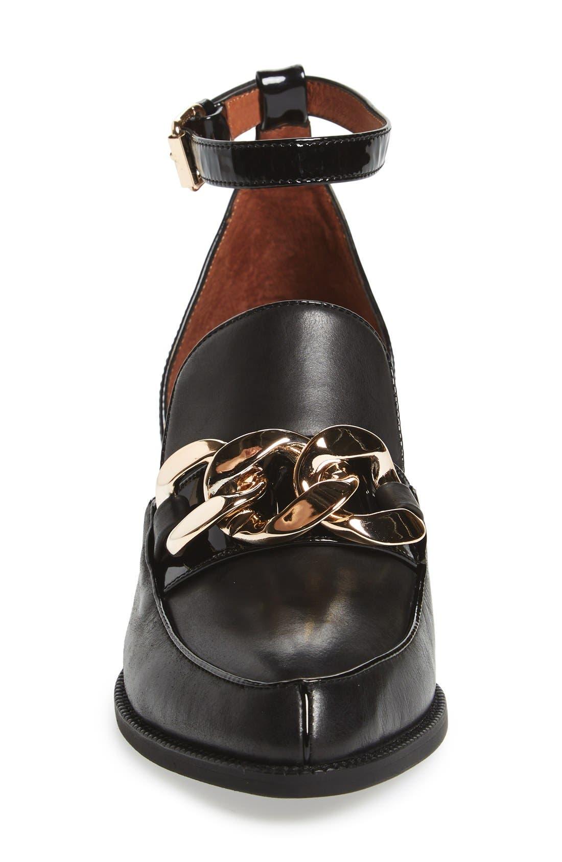 Alternate Image 3  - Jeffrey Campbell 'Walden' Ankle Strap Loafer (Women)