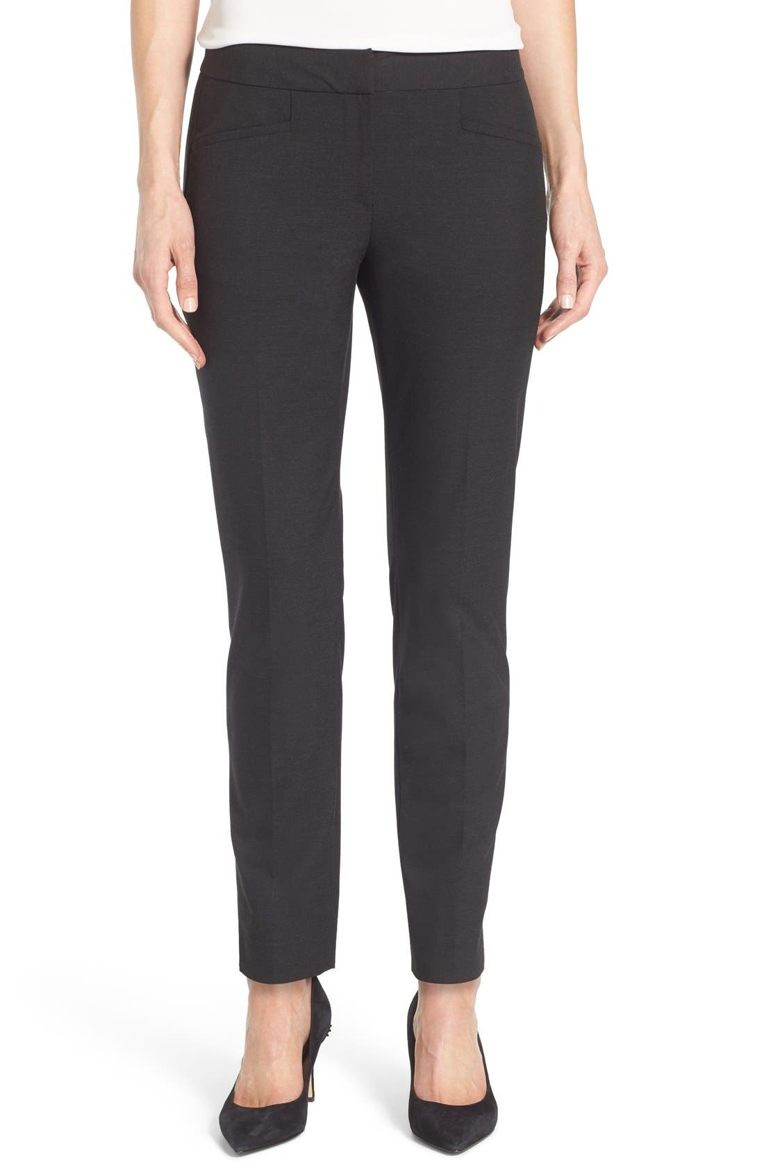 Alternate Image 1 Selected - Halogen® Taylor Ankle Skinny Pants (Regular & Petite)