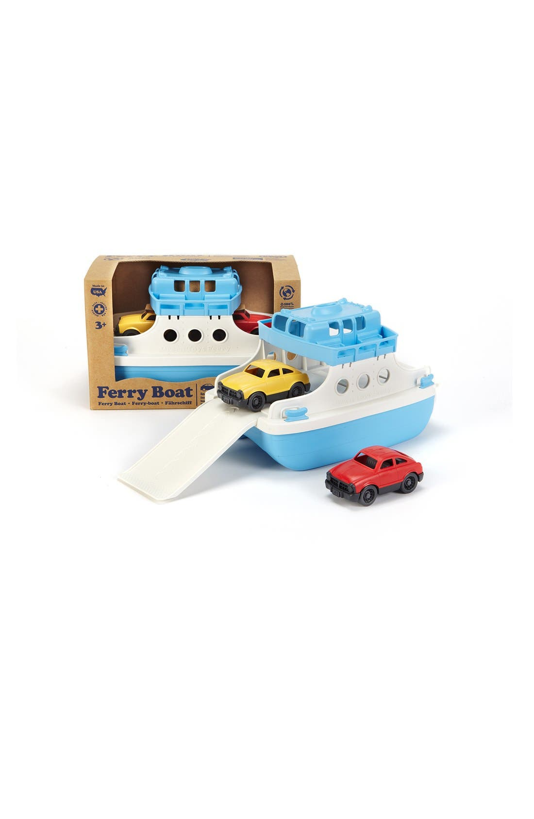 Alternate Image 3  - Green Toys Ferry Boat Toy