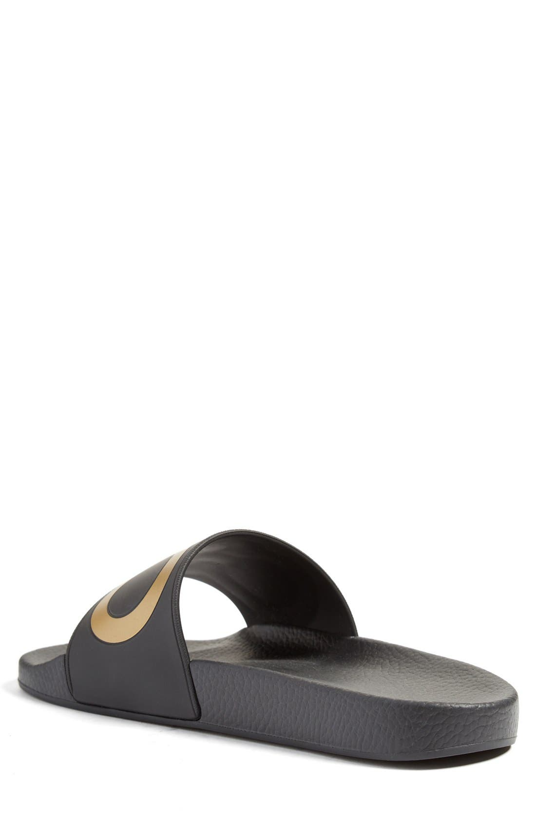 Alternate Image 2  - Salvatore Ferragamo 'Groove' Slide Sandal (Men)