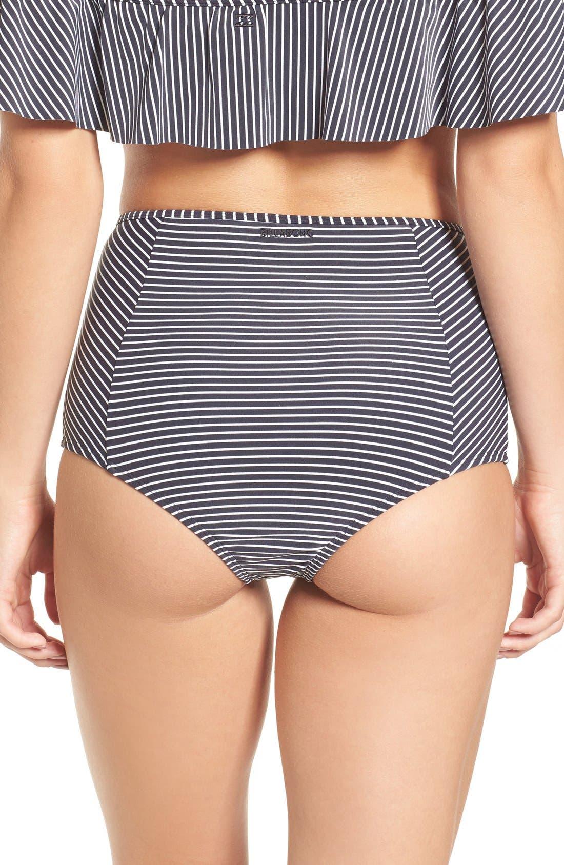 Alternate Image 2  - Billabong Retro High Waist Bikini Bottoms