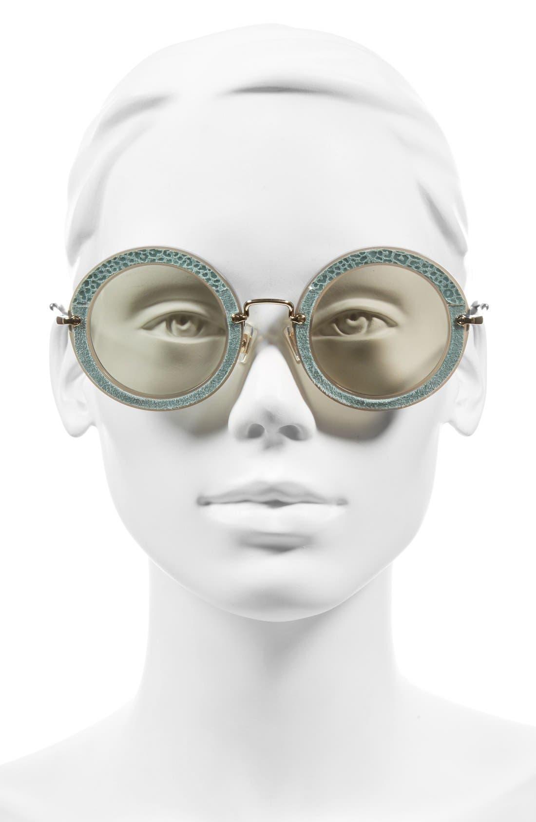 Alternate Image 2  - Miu Miu 48mm Round Sunglasses