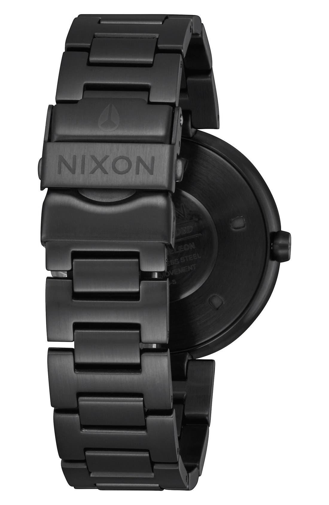 Alternate Image 2  - Nixon 'Chameleon' Bracelet Watch, 39mm