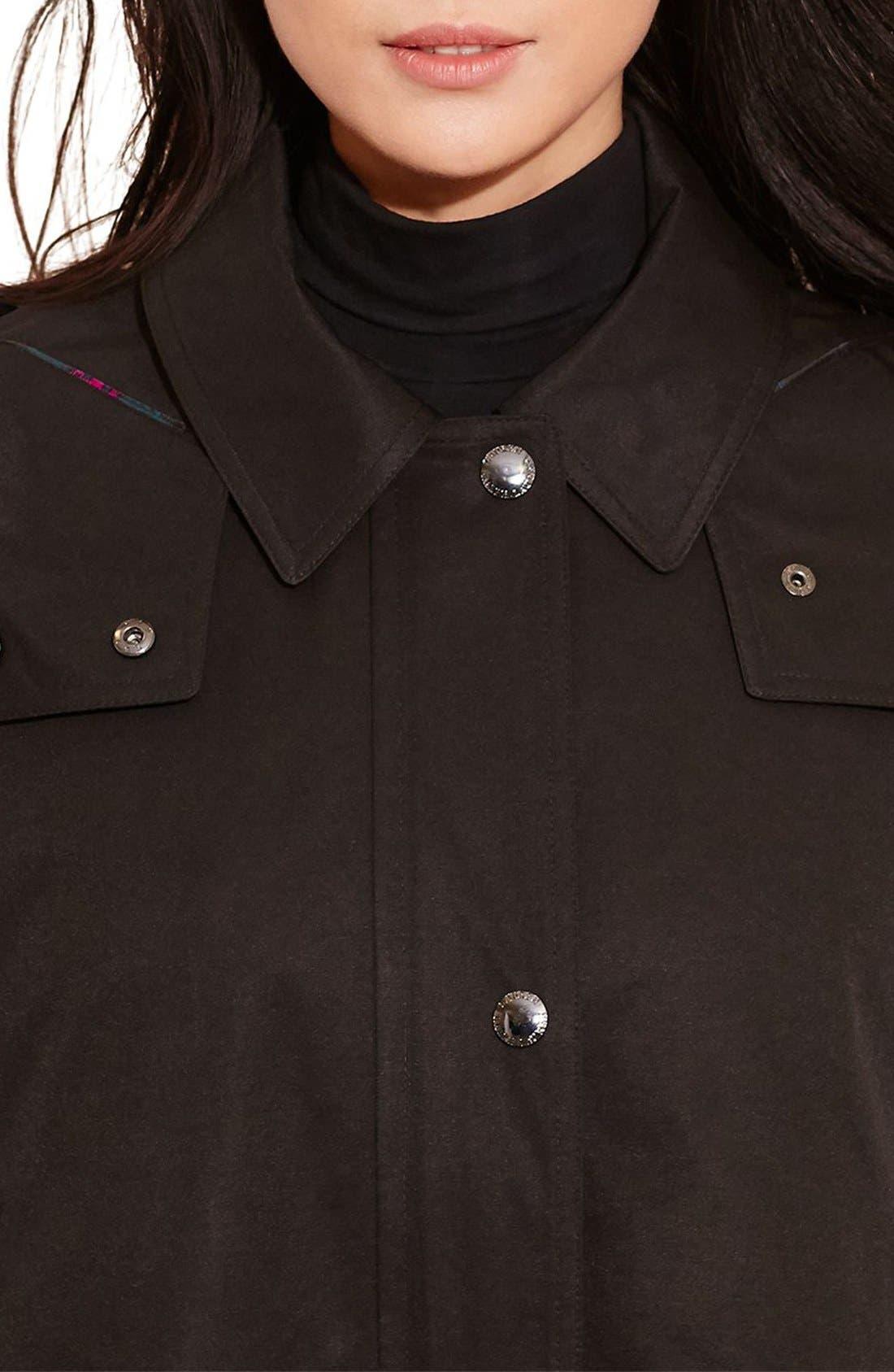 Alternate Image 3  - Lauren Ralph Lauren A-Line Jacket with Removable Liner