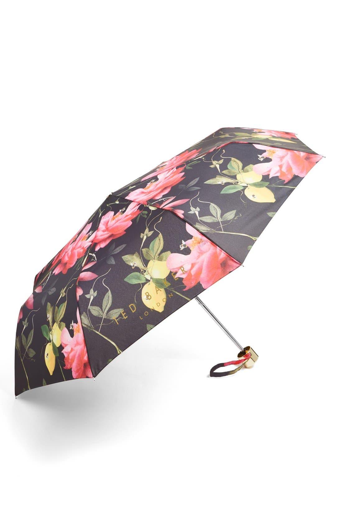 Alternate Image 1 Selected - Ted Baker London 'Citrus Bloom' Umbrella