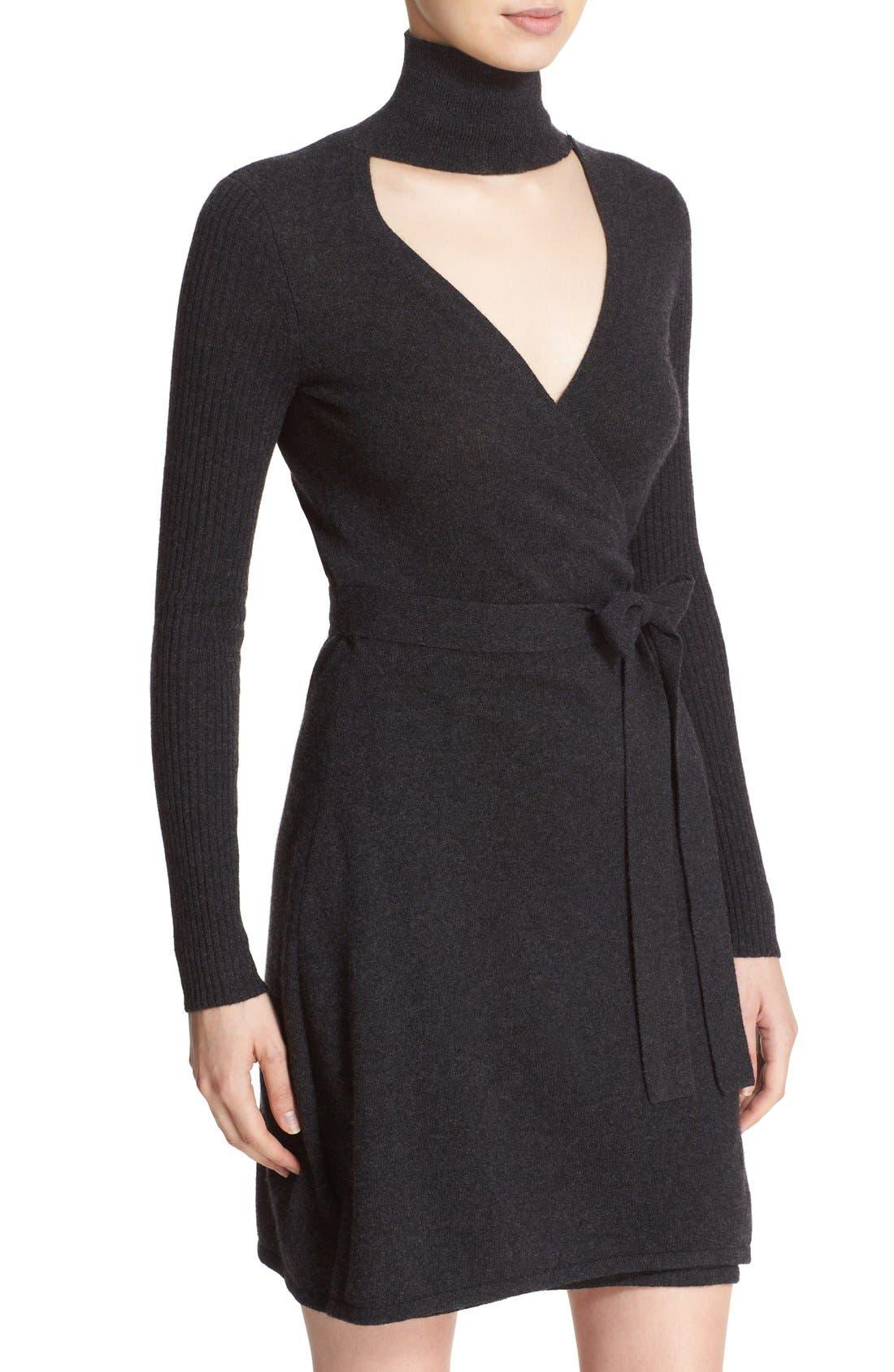 Alternate Image 4  - Diane von Furstenberg 'Janeva' Wool & Cashmere Wrap Dress
