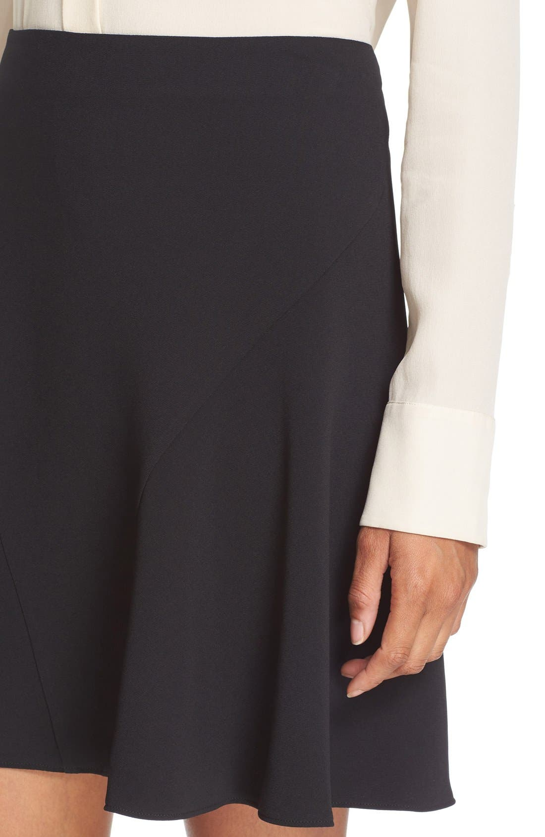 Alternate Image 5  - Stella McCartney Stretch Cady Skater Skirt