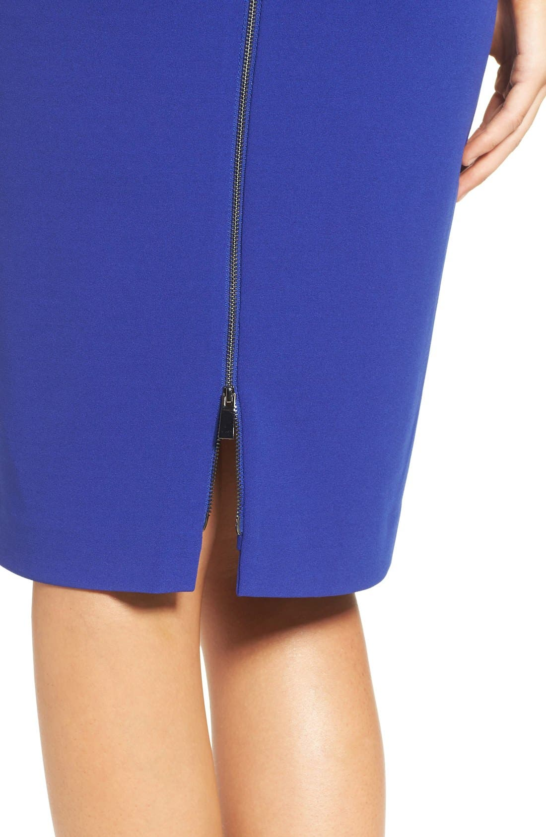 Alternate Image 5  - Vince Camuto Stretch Sheath Dress