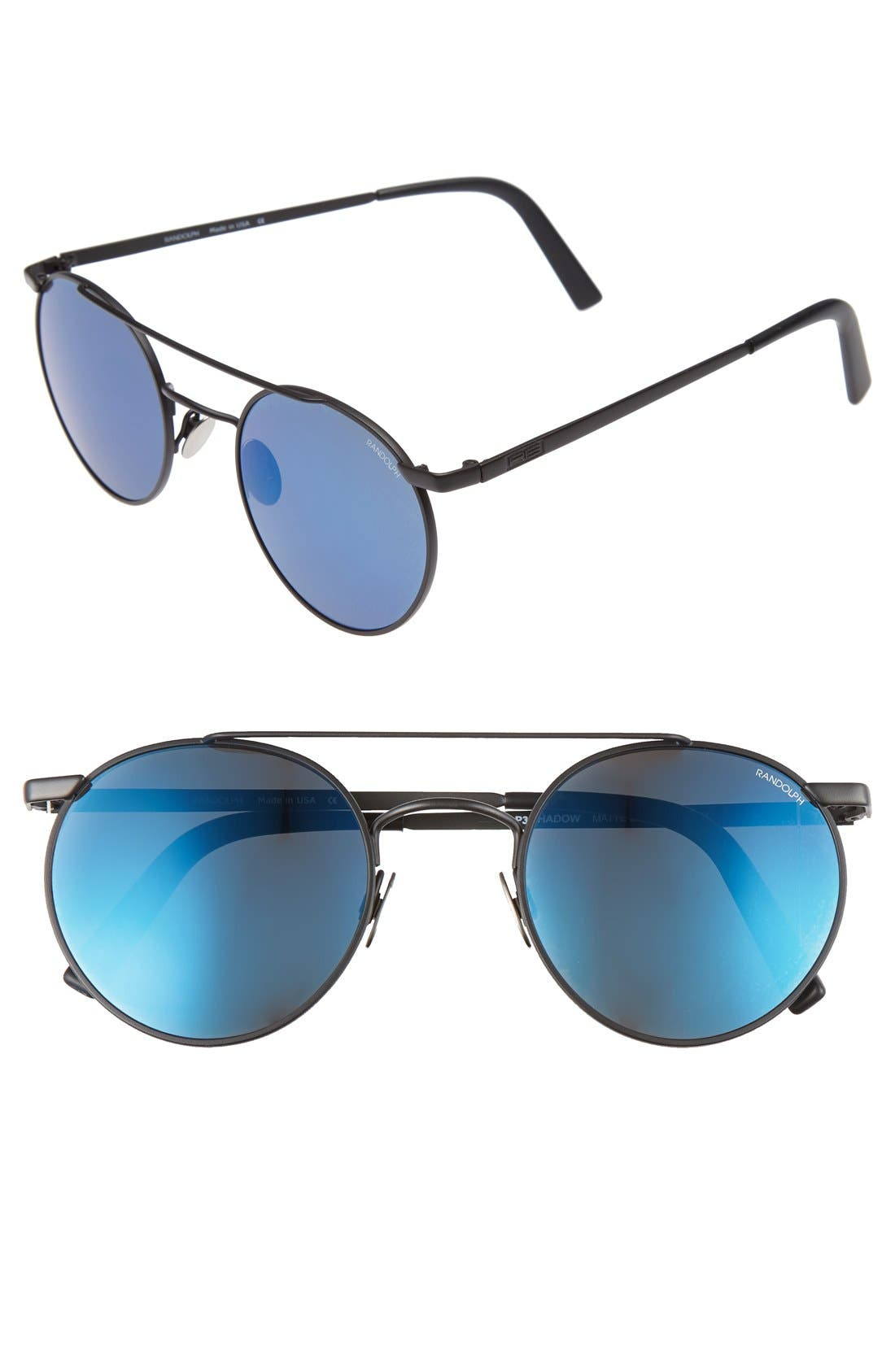 Randolph Engineering 'P3 Shadow Skull' 49mm Sunglasses
