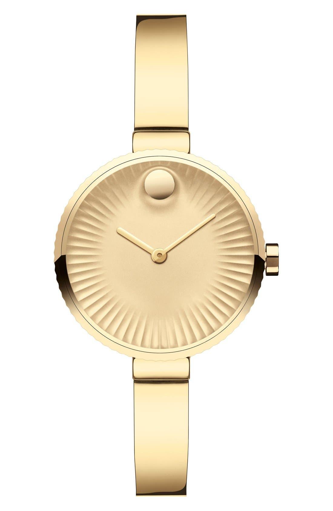 Main Image - Movado 'Edge' Bracelet Watch, 28mm