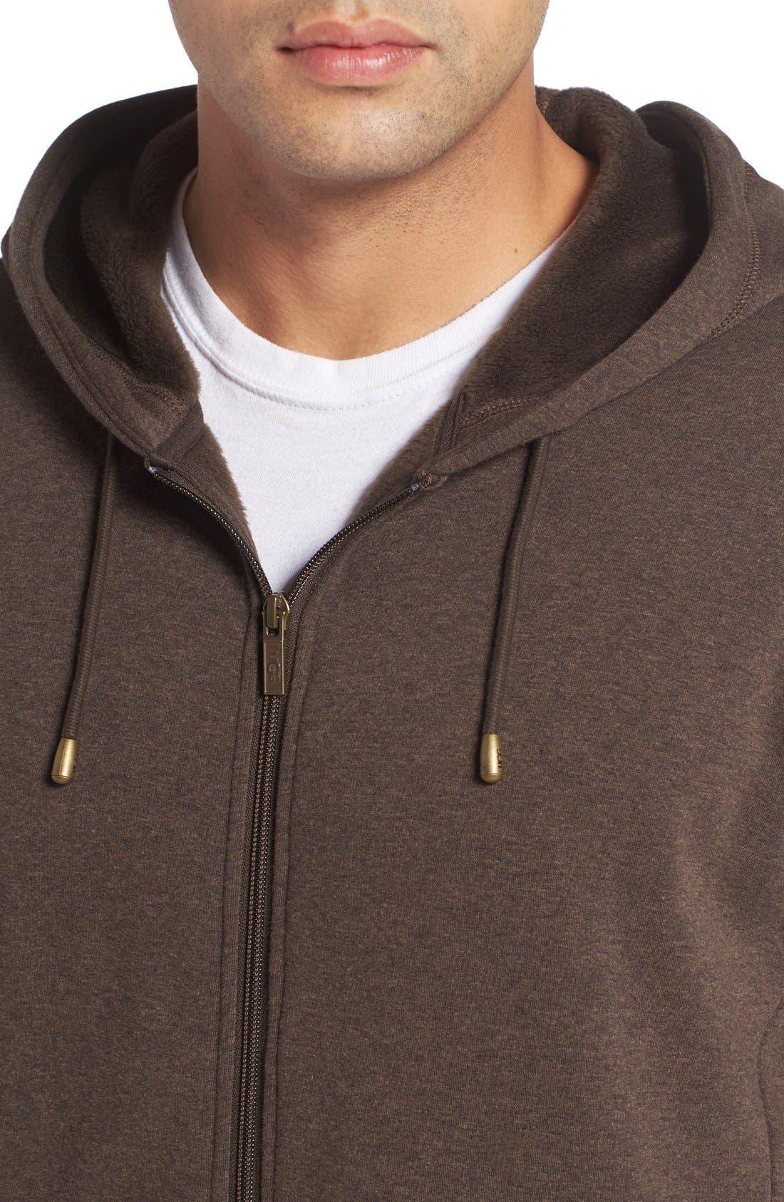 Alternate Image 4  - UGG® 'Bownes' Zip Hoodie