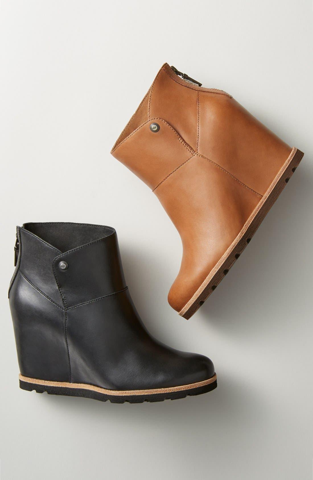 Alternate Image 5  - UGG® 'Amal' Wedge Boot (Women)