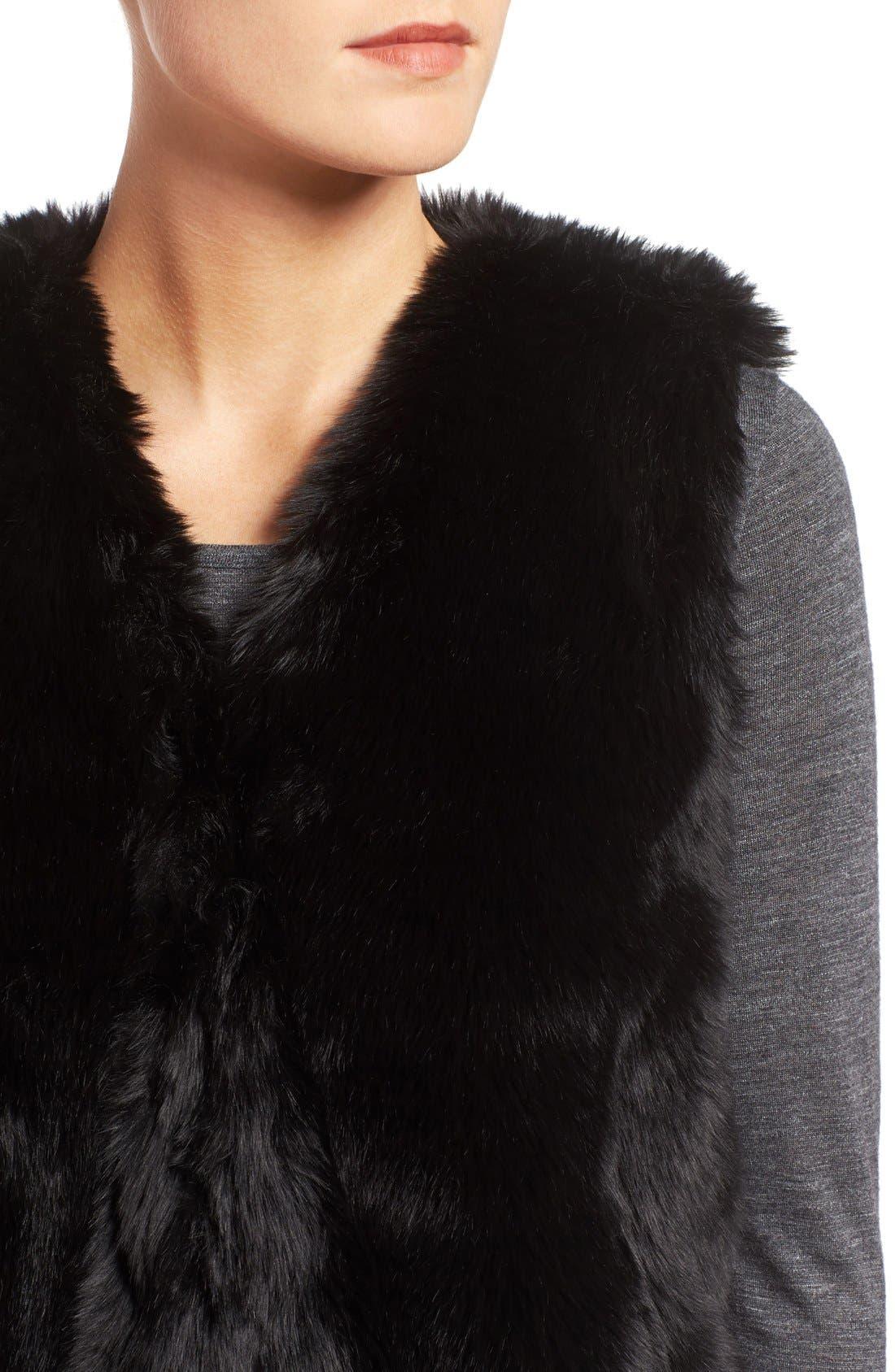 Alternate Image 4  - Madewell Faux Fur Vest