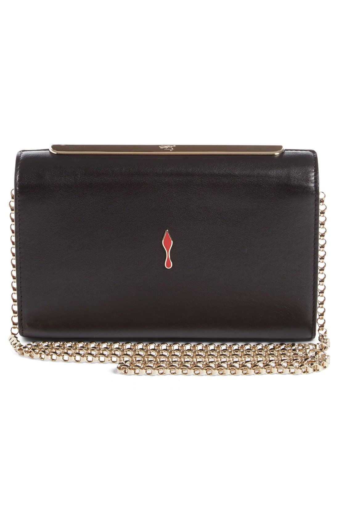 Alternate Image 3  - Christian Louboutin Vanité Metallic Leopard Leather Clutch