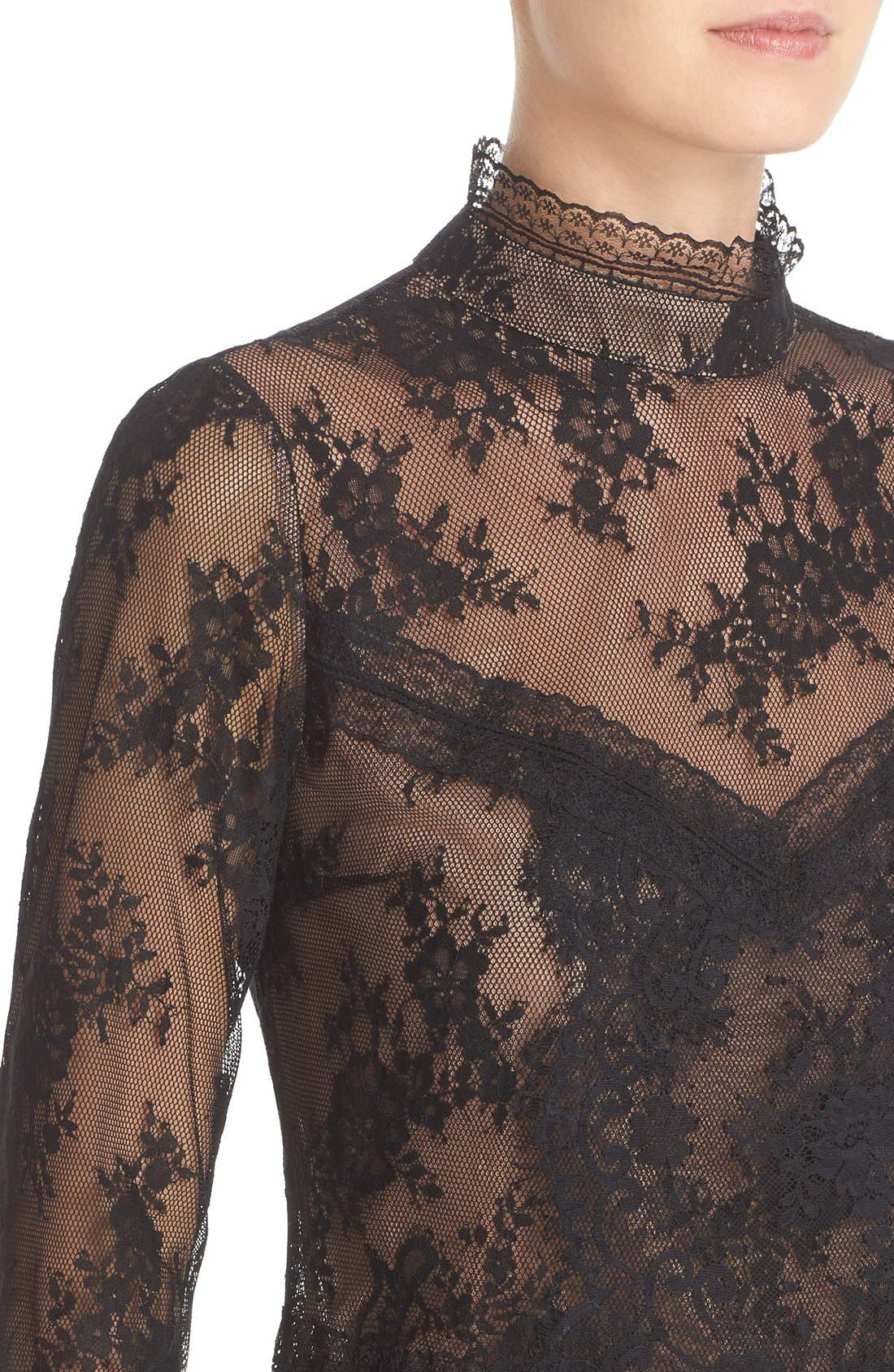 Alternate Image 4  - Tracy Reese Chantilly Lace Victorian Blouse