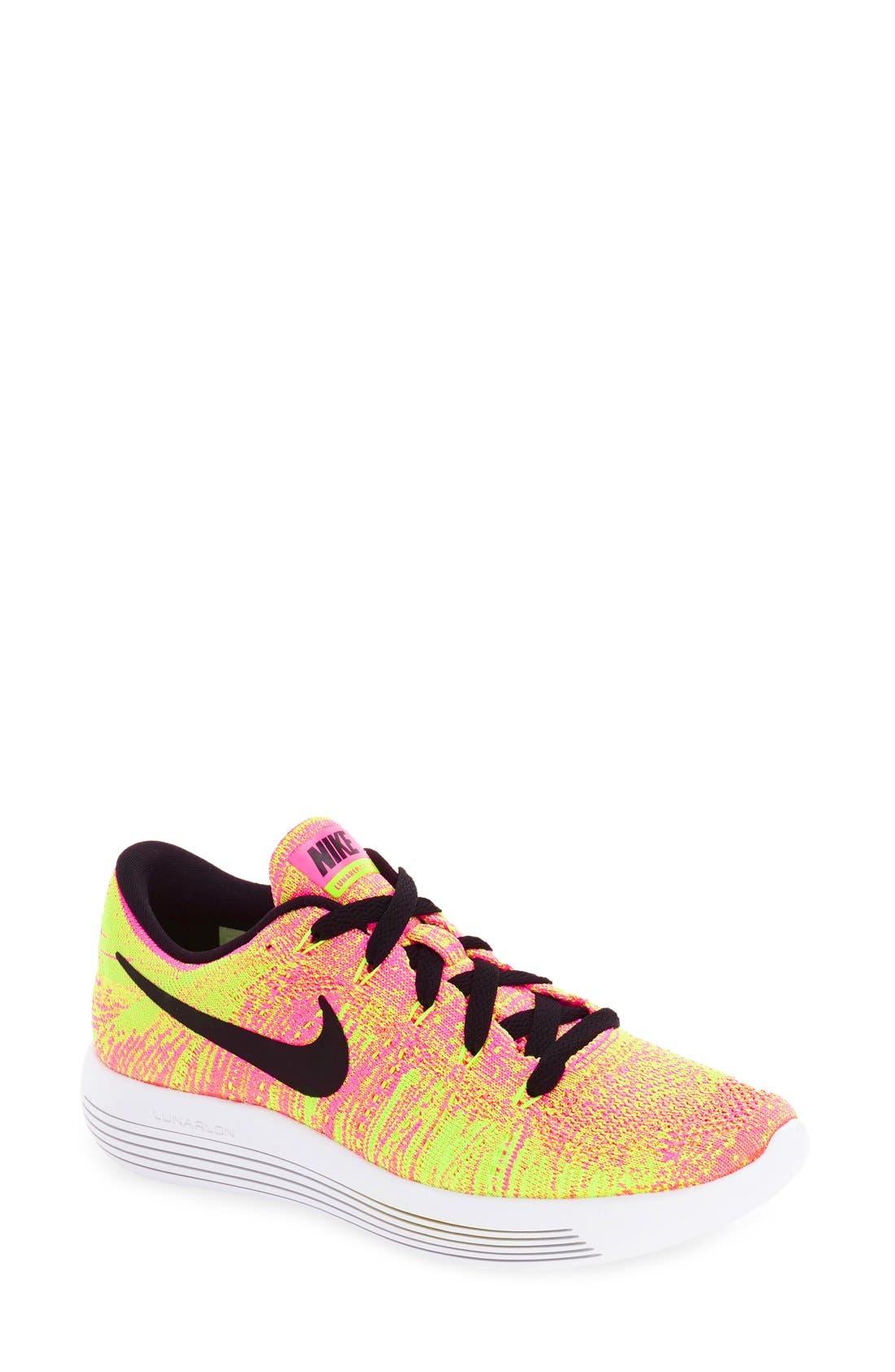 Alternate Image 1 Selected - Nike 'Flyknit LunarEpic' Running Shoe (Women)